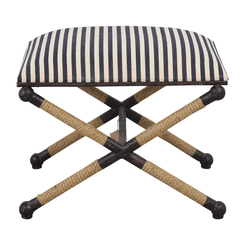 buy Uttermost Braddock Small Bench Uttermost Chairs