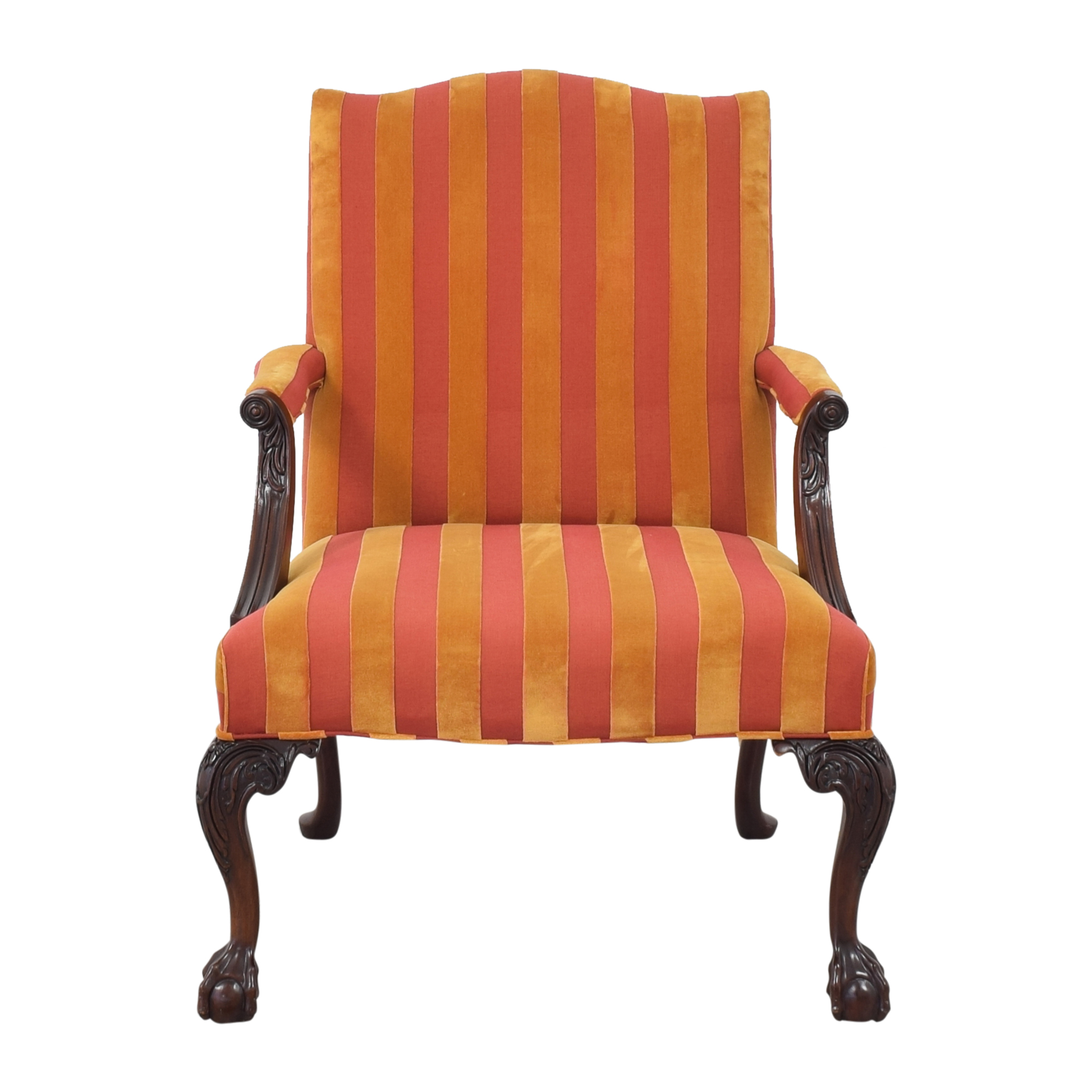 TRS Furniture TRS Furniture Claw Foot Accent Chair discount