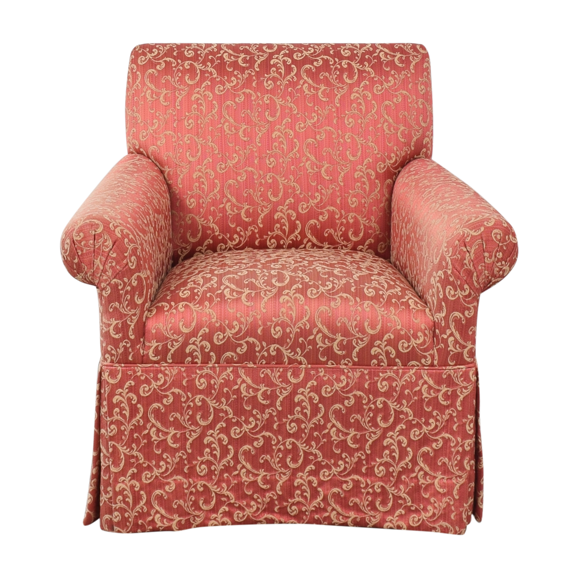 Custom Upholstered Accent Chair on sale