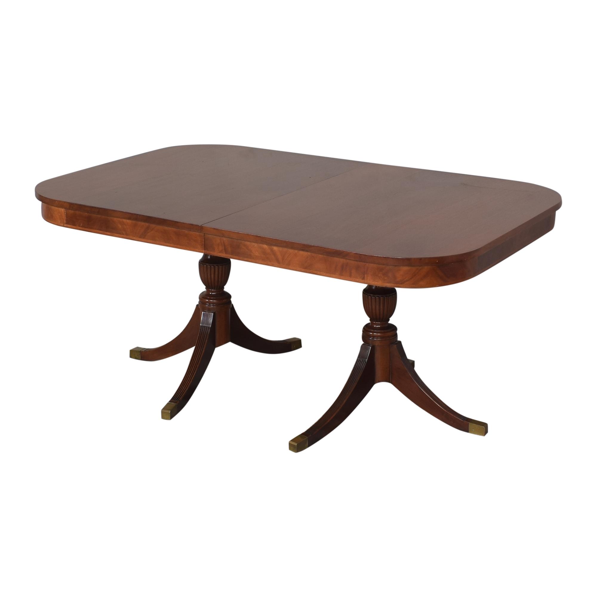 shop  Extendable Double Pedestal Dining Table online