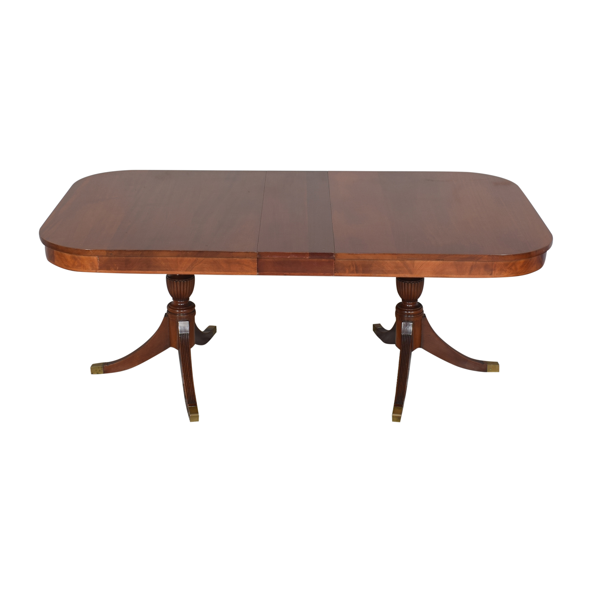 Extendable Double Pedestal Dining Table / Tables