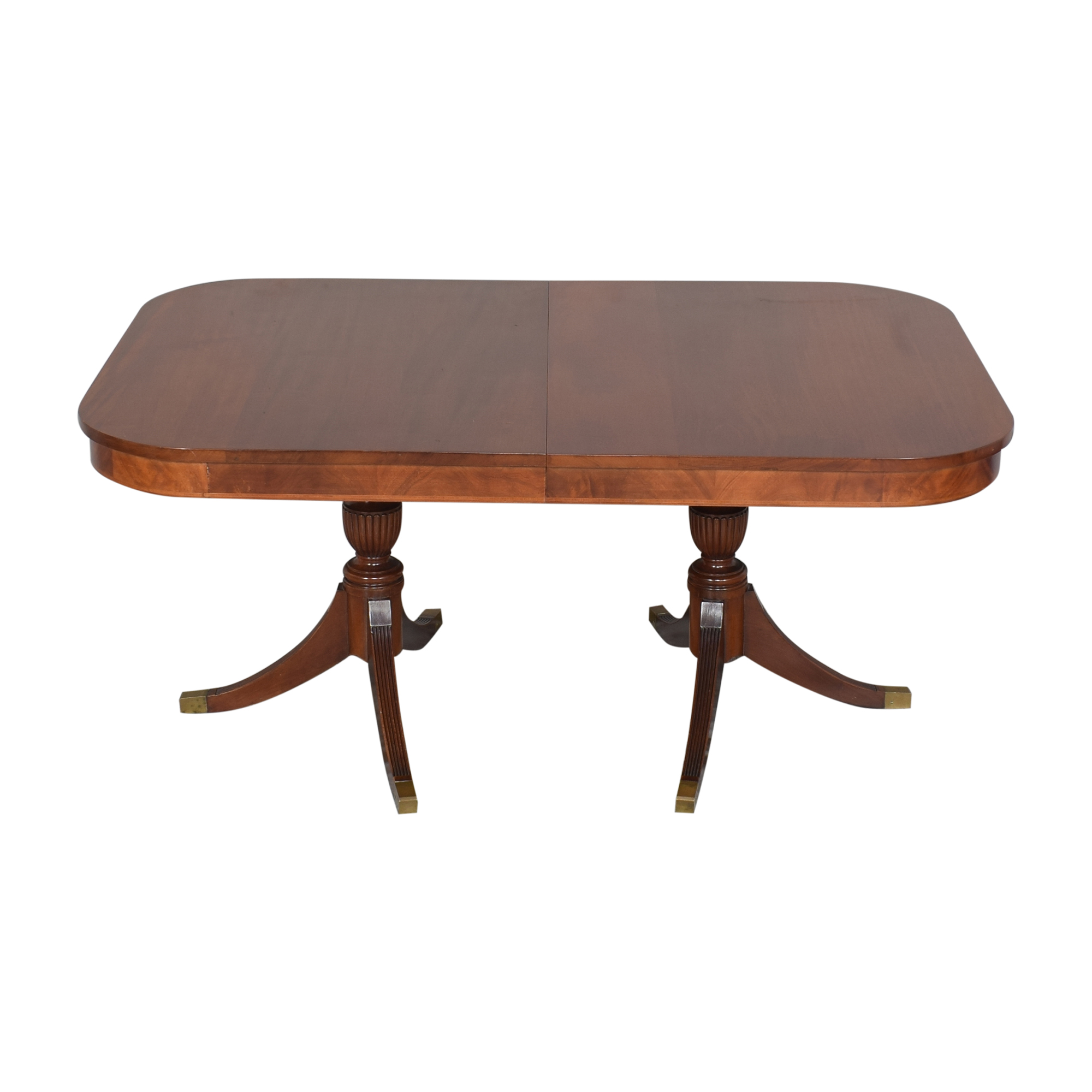 buy  Extendable Double Pedestal Dining Table online