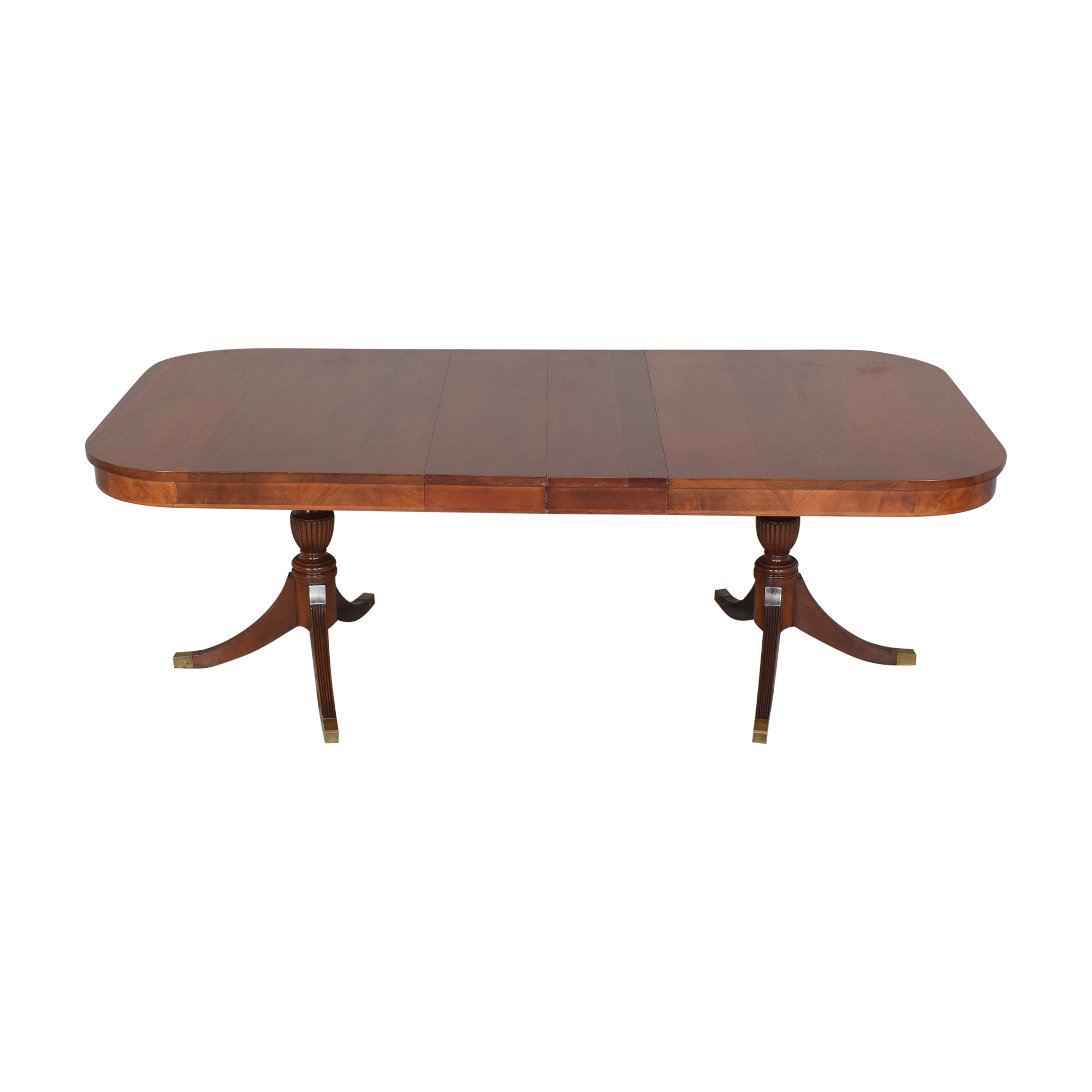 Extendable Double Pedestal Dining Table ct