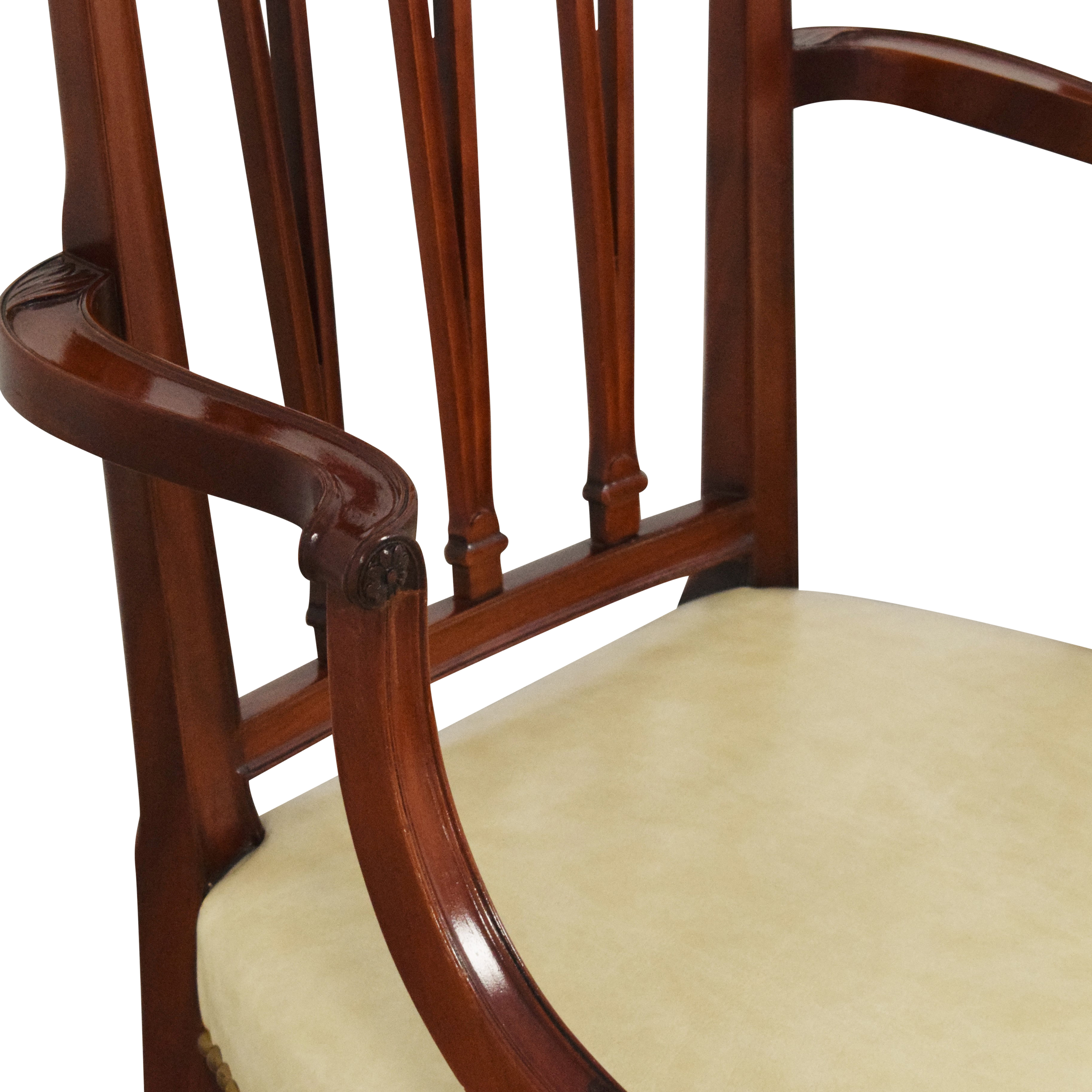 Upholstered Dining Arm Chairs on sale