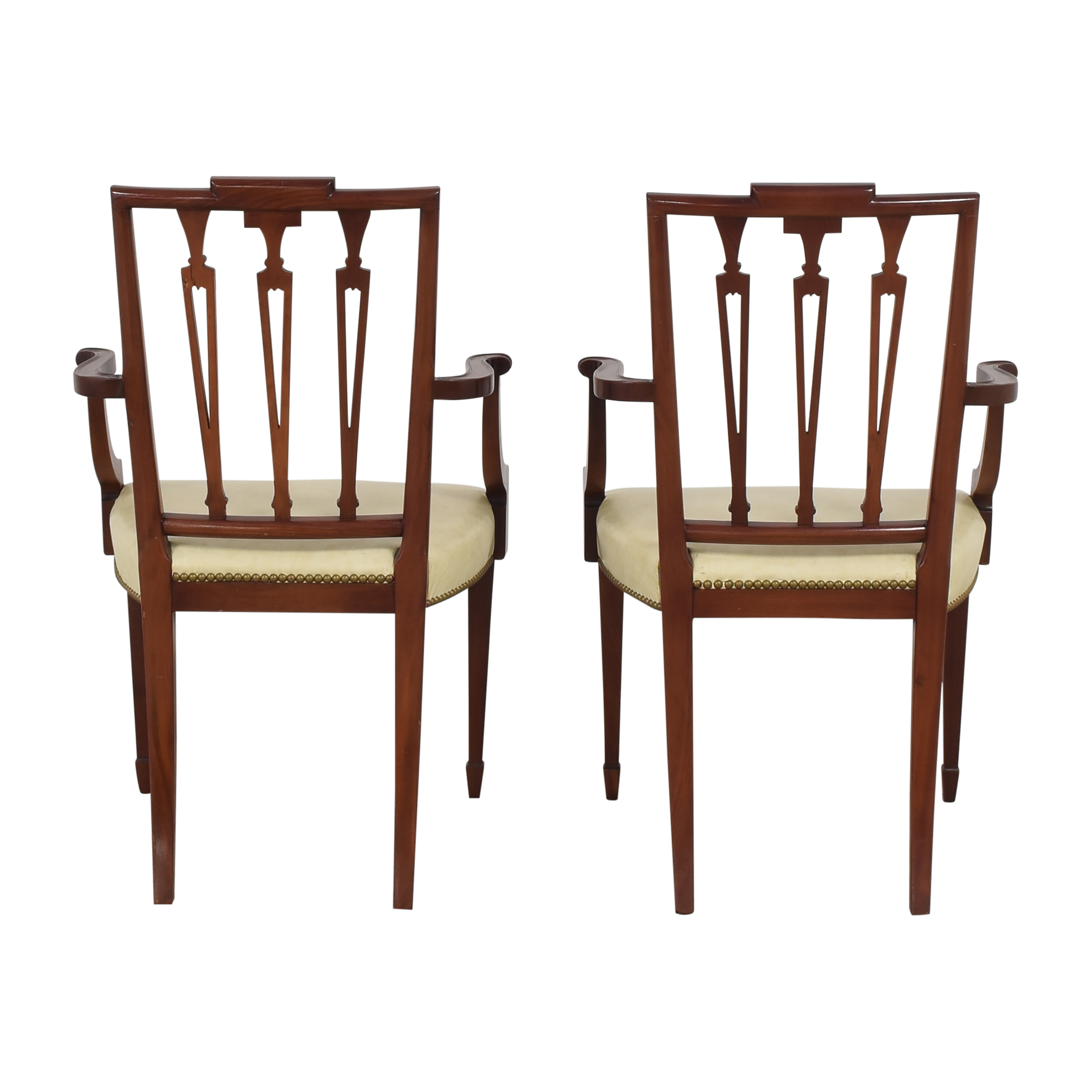 shop Upholstered Dining Arm Chairs  Chairs