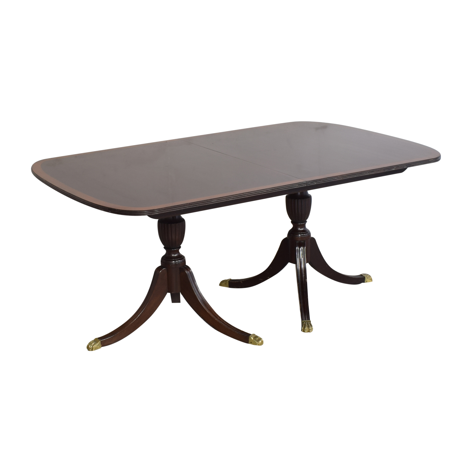 buy Stickley Furniture Stickley Furniture Extendable Double Pedestal Dining Table online