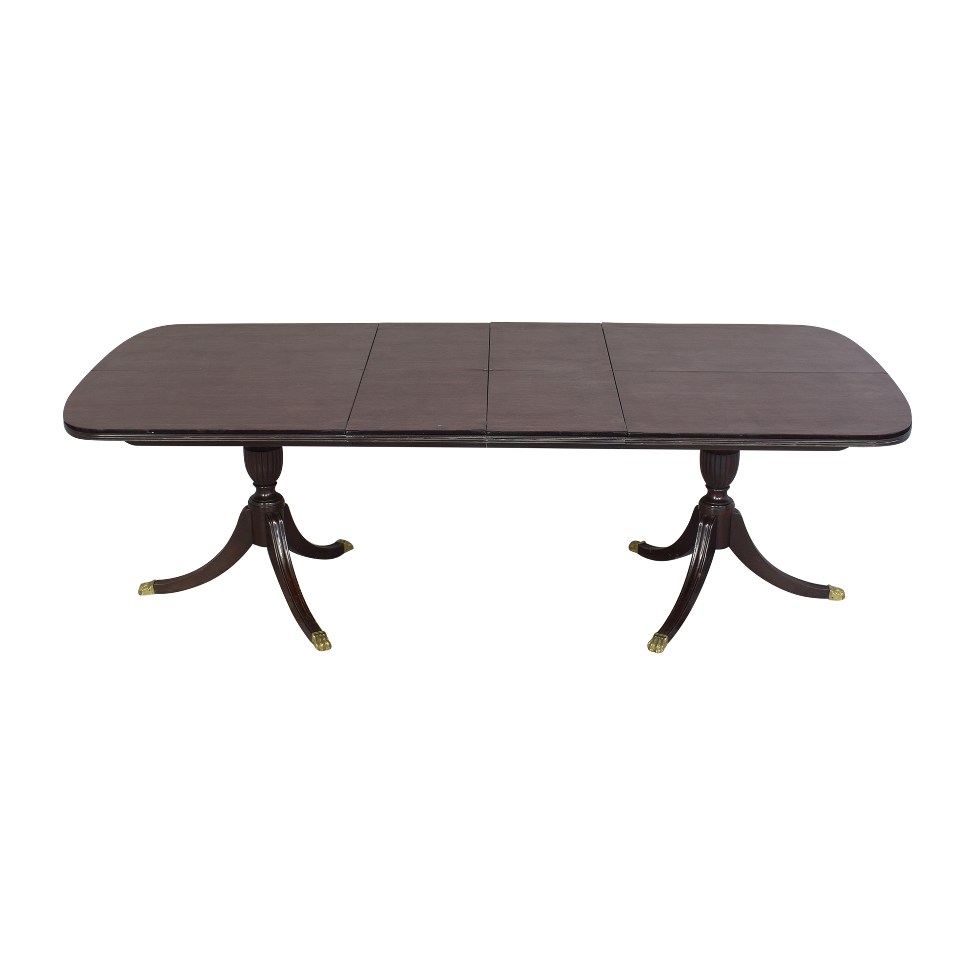 shop Stickley Furniture Stickley Furniture Extendable Double Pedestal Dining Table online