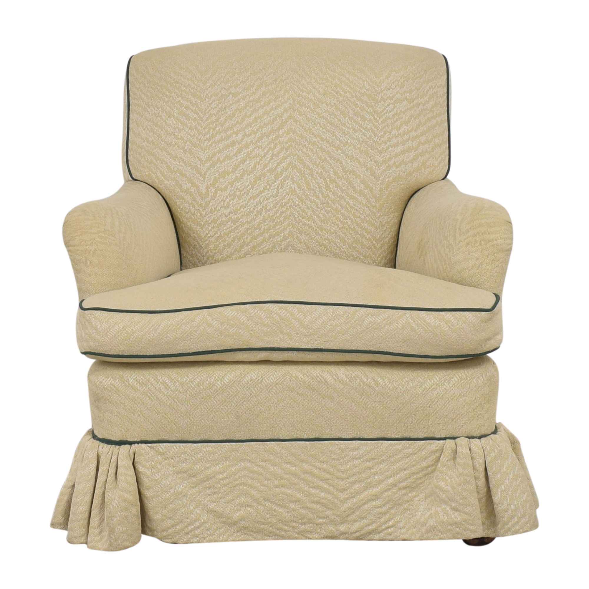 Skirted Accent Chair discount