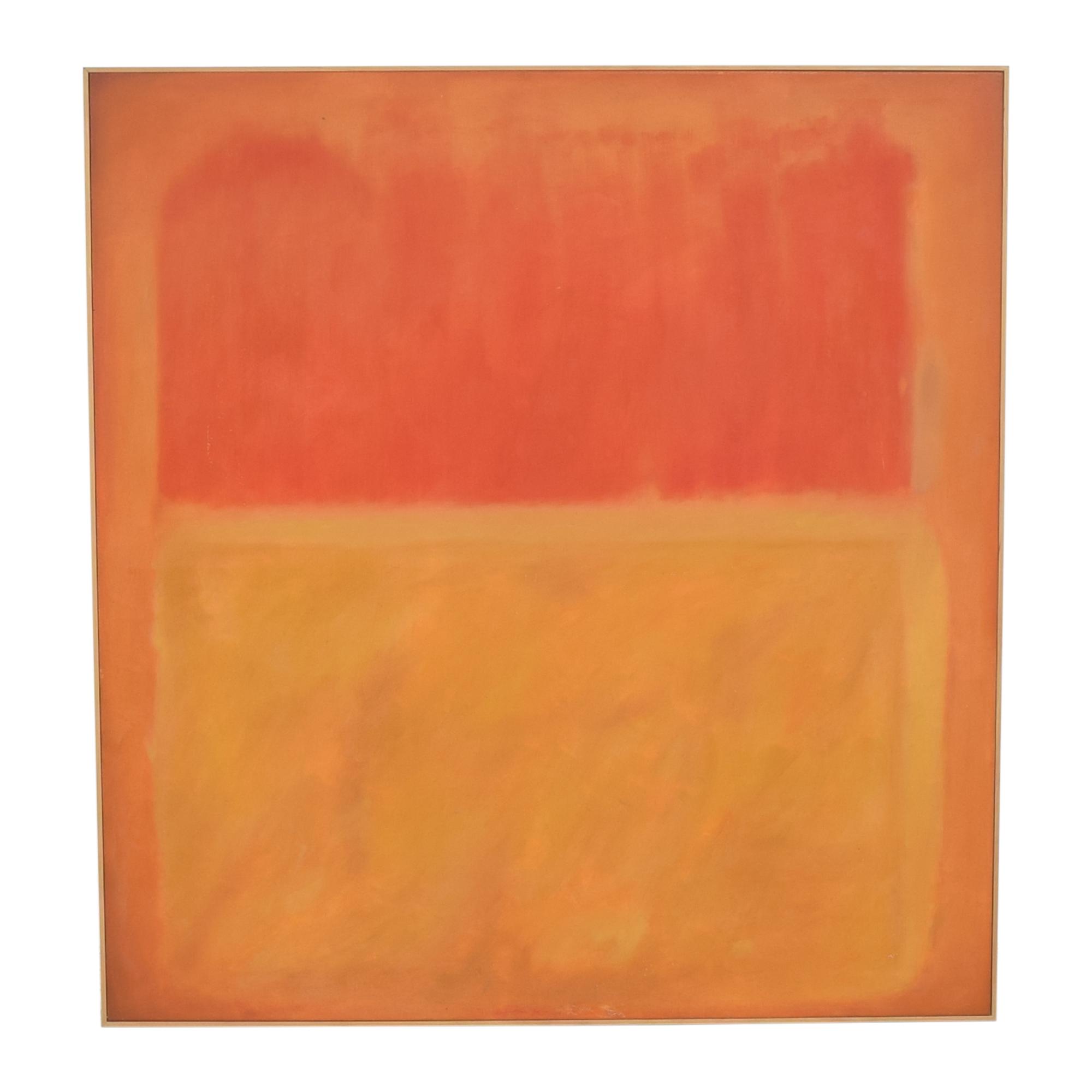 Rothko-Style Wall Art dimensions