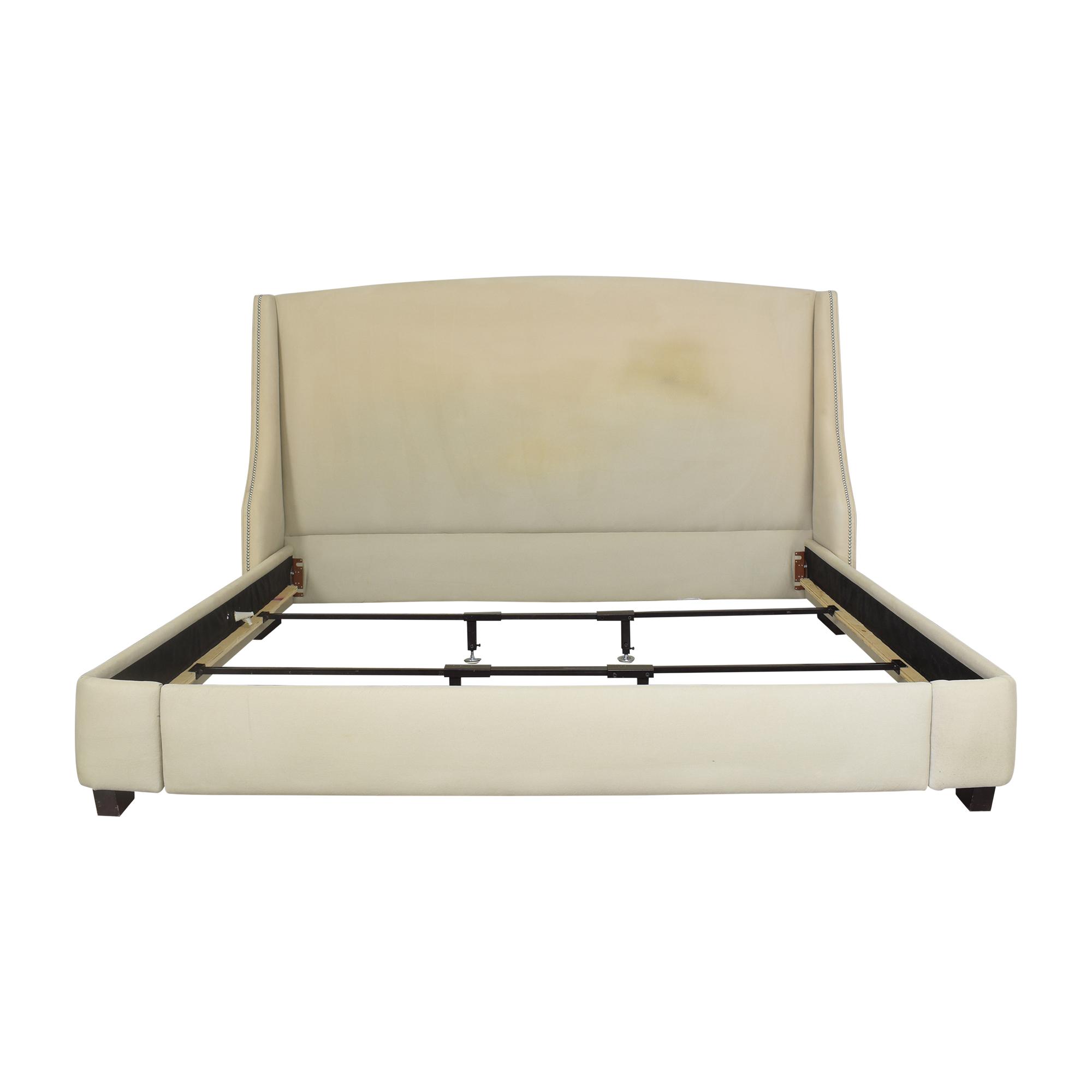 Restoration Hardware Restoration Hardware Warner Nailhead King Bed Bed Frames