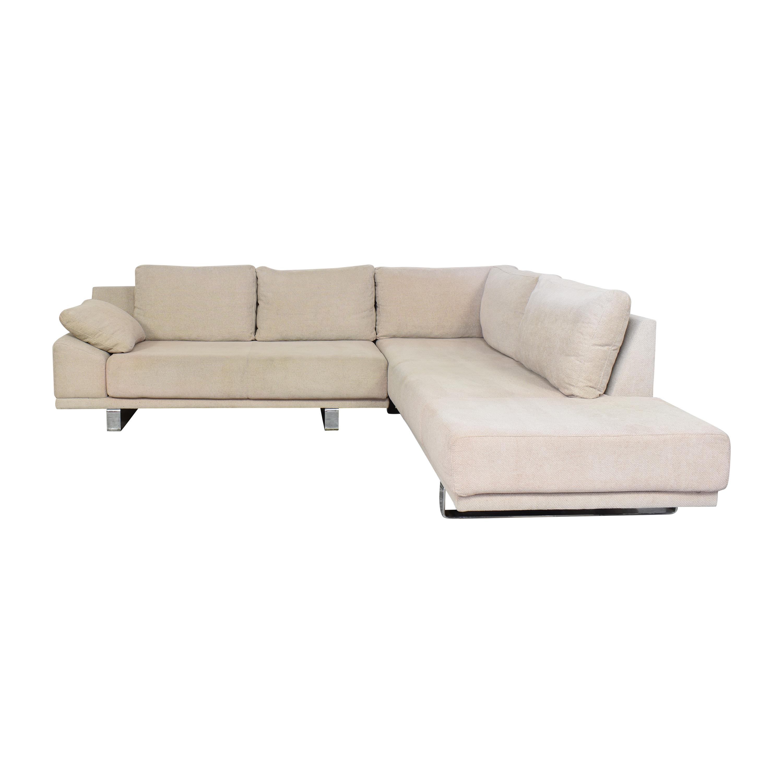 BoConcept BoConcept Chaise Sectional Sofa beige
