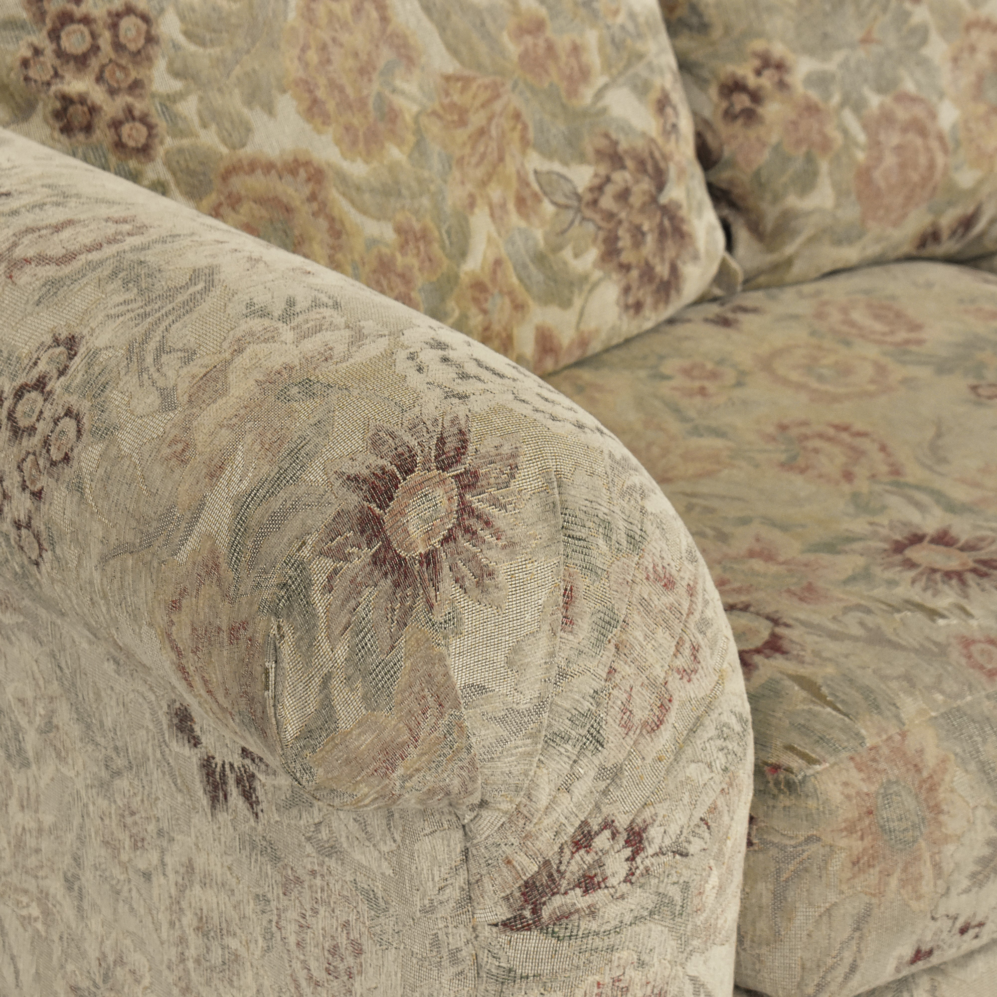Sealy Sealy Floral Sofa by Klaussner for sale
