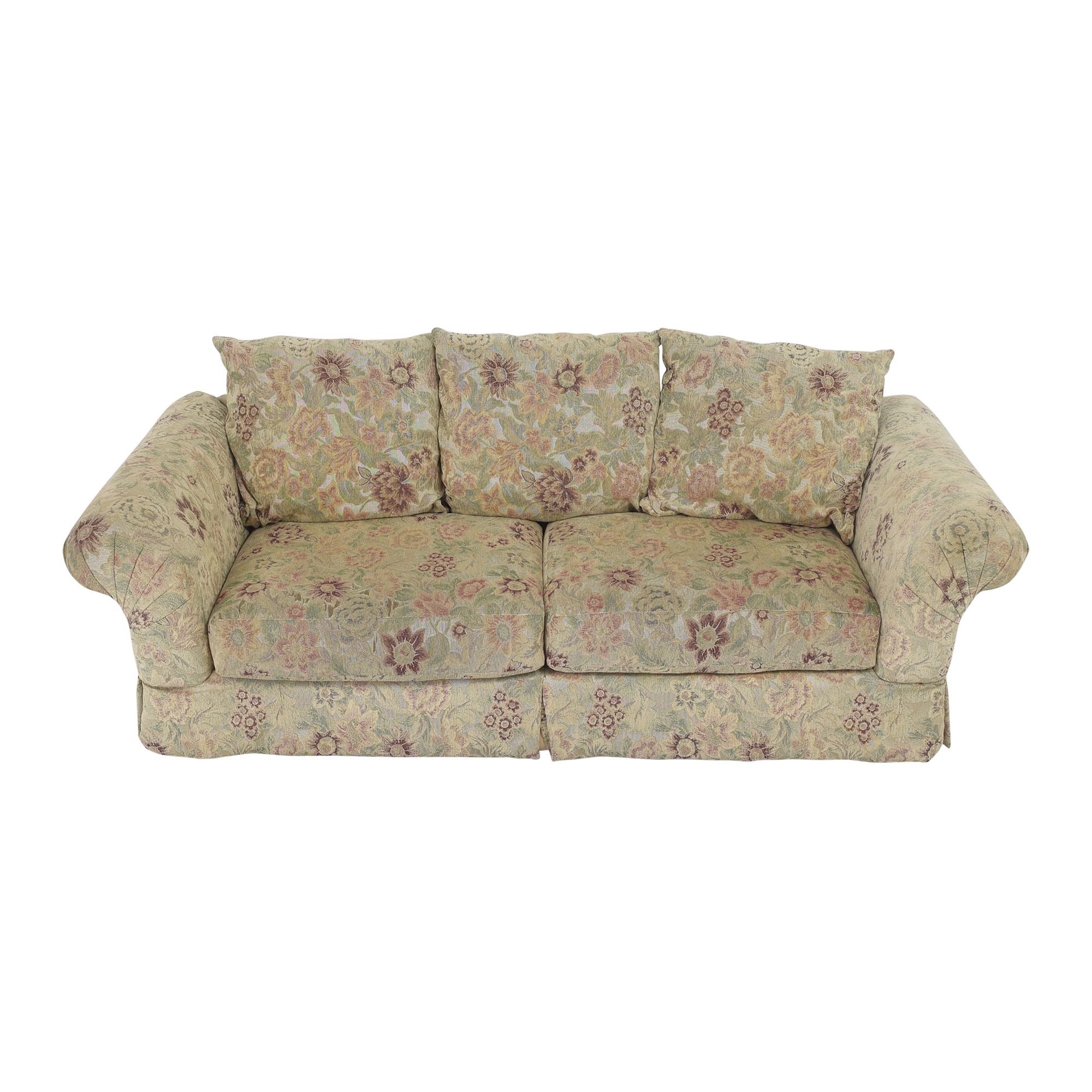Sealy Sealy Floral Sofa by Klaussner Classic Sofas