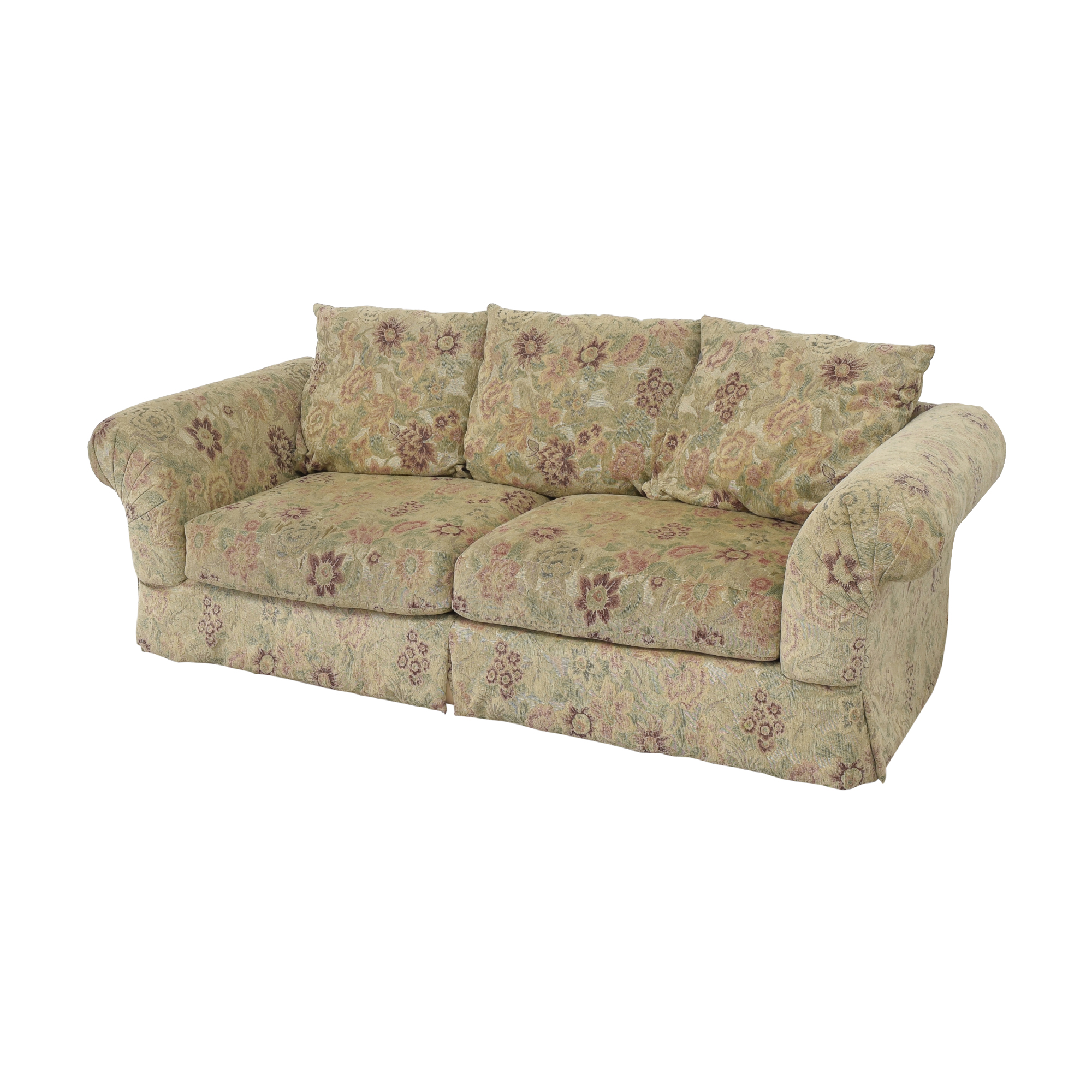 shop Sealy Floral Sofa by Klaussner Sealy Sofas