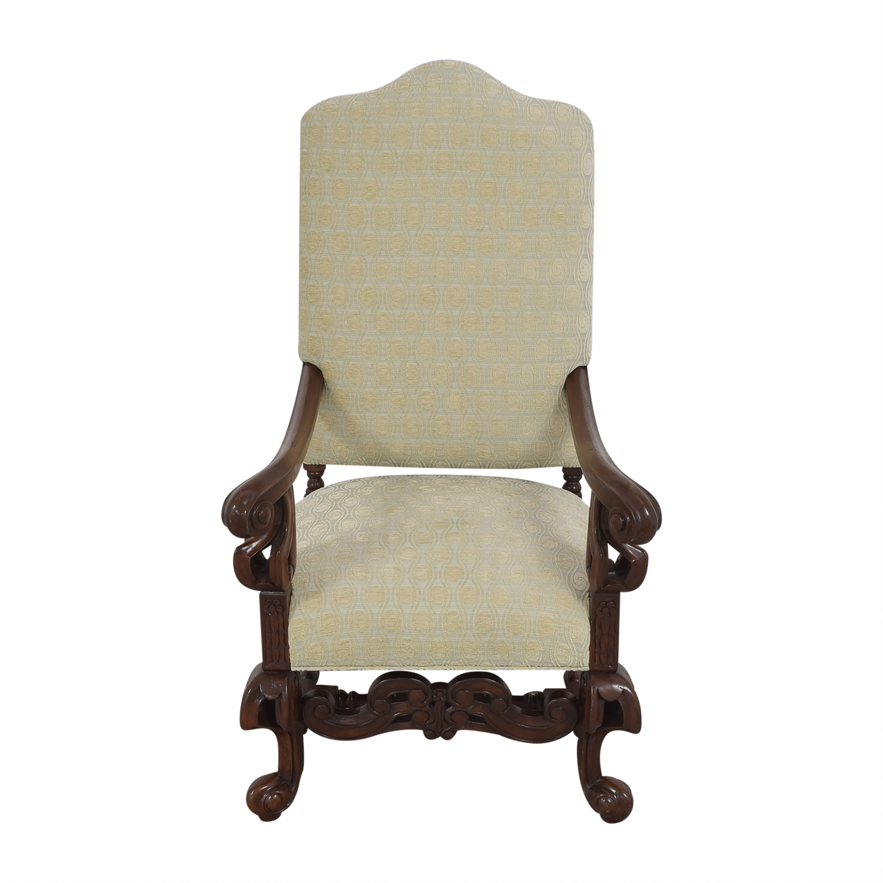 shop Louis XIV-Style Accent Chair  Accent Chairs