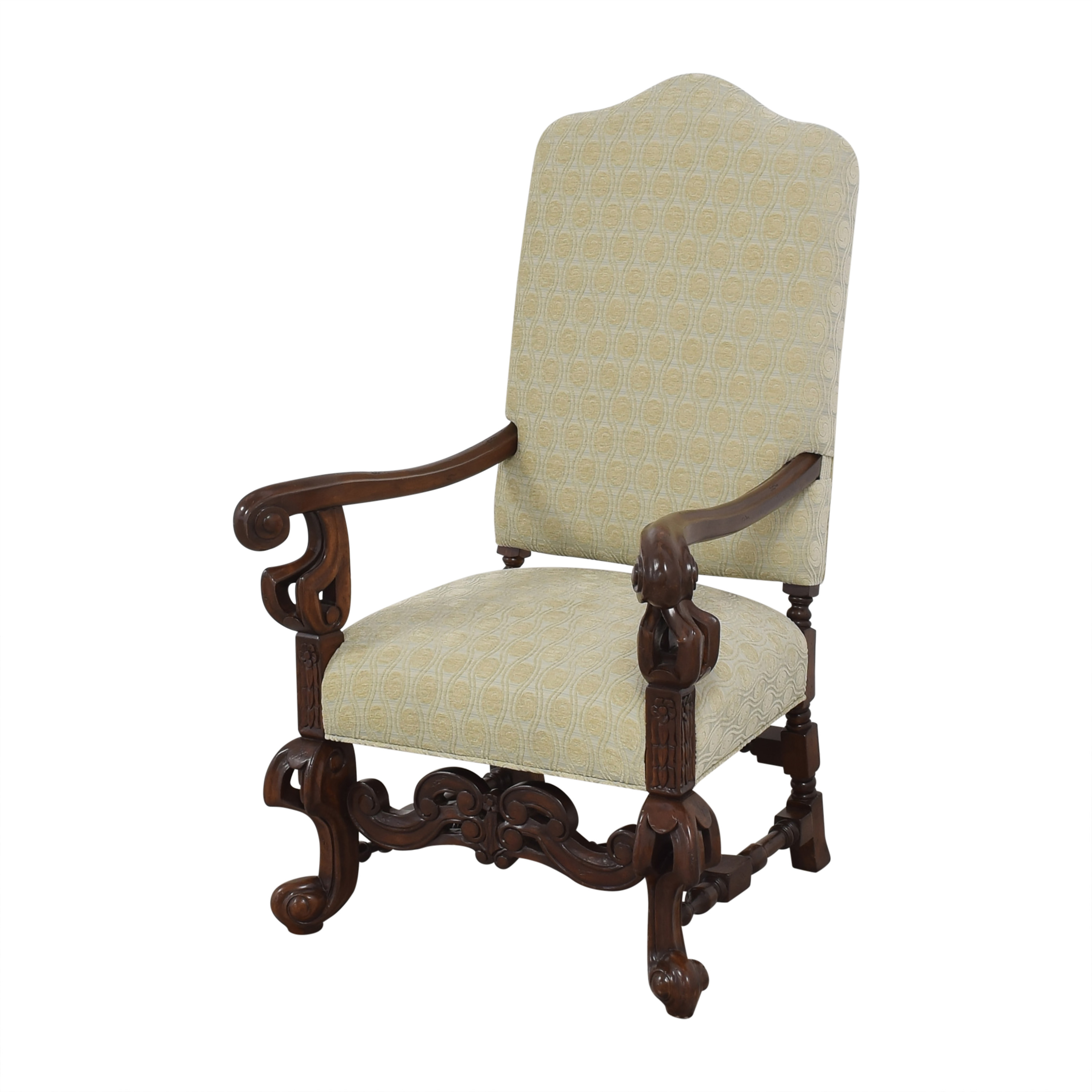 Louis XIV-Style Accent Chair coupon
