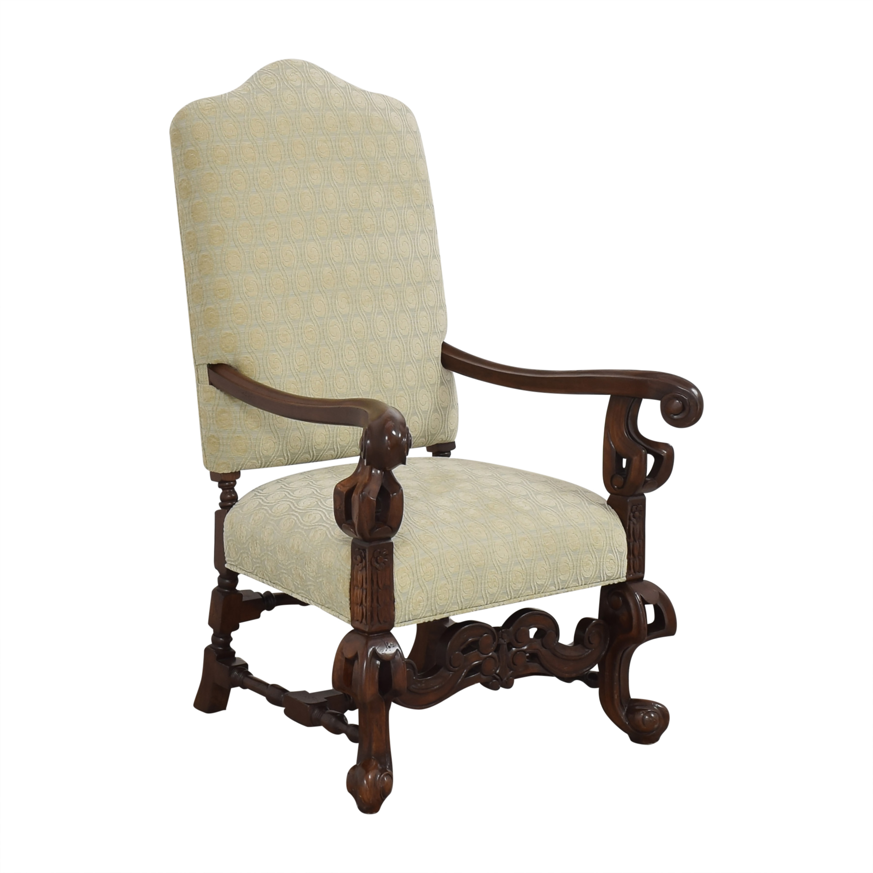 Louis XIV-Style Accent Chair
