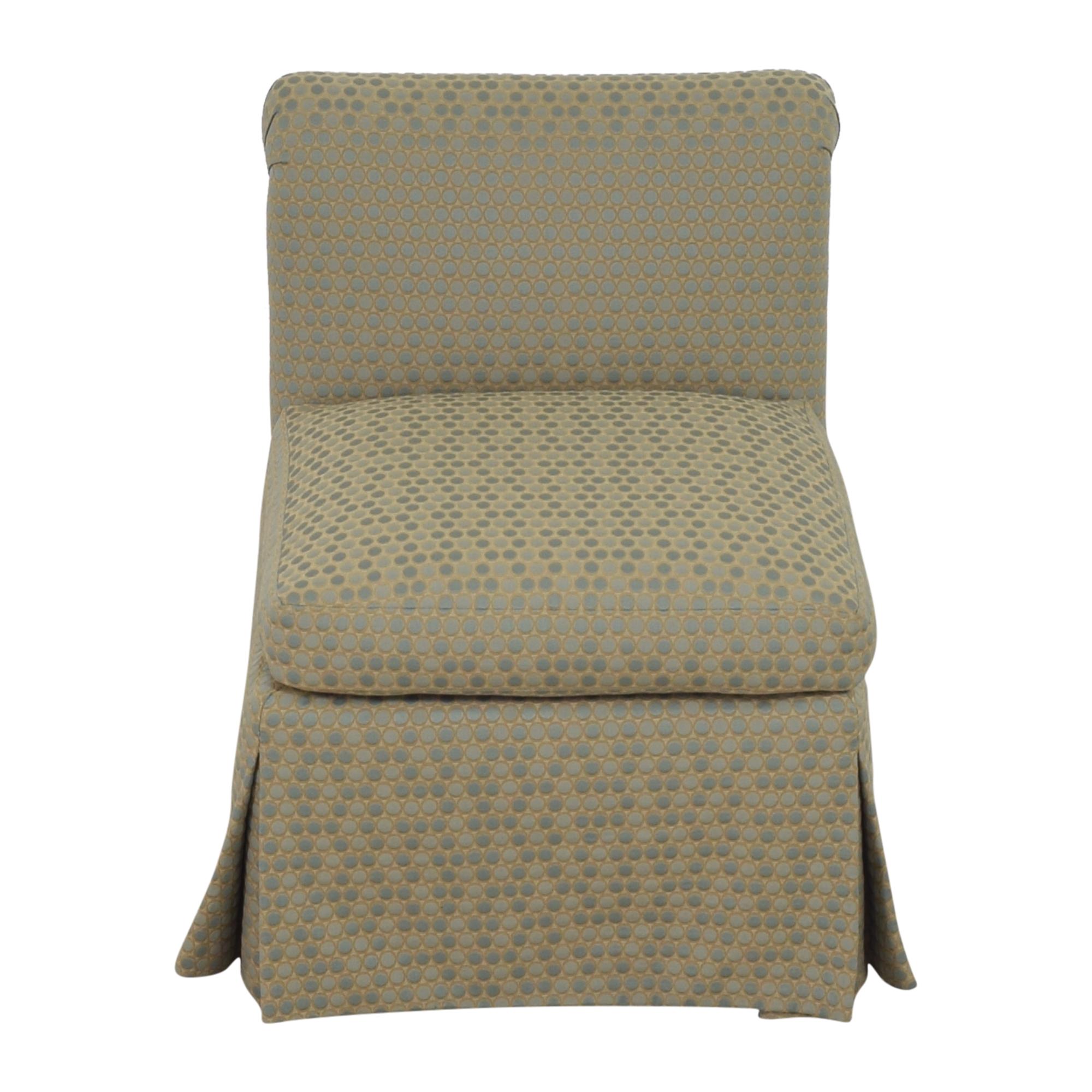 Custom Scroll Back Chair ct