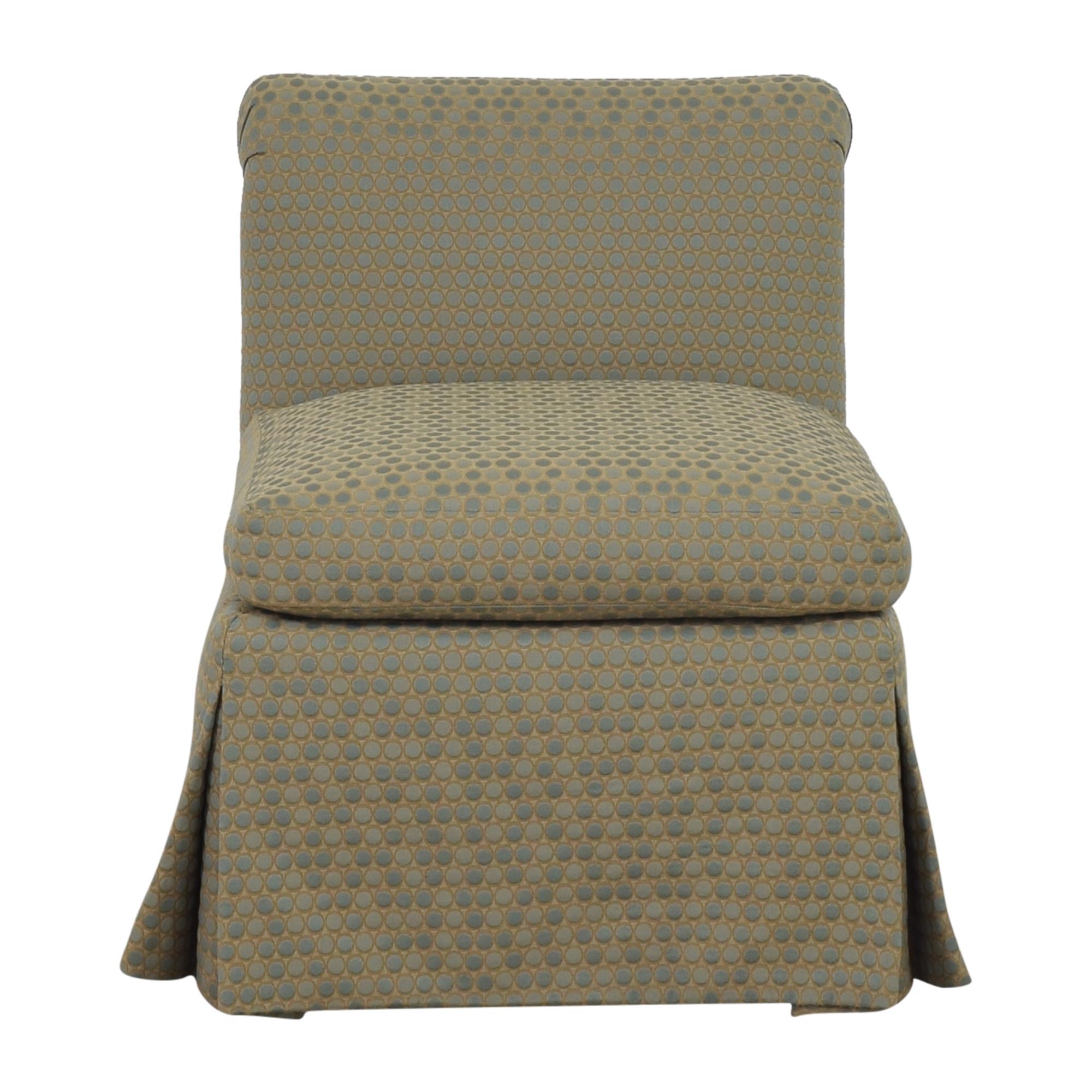 Custom Scroll Back Chair dimensions