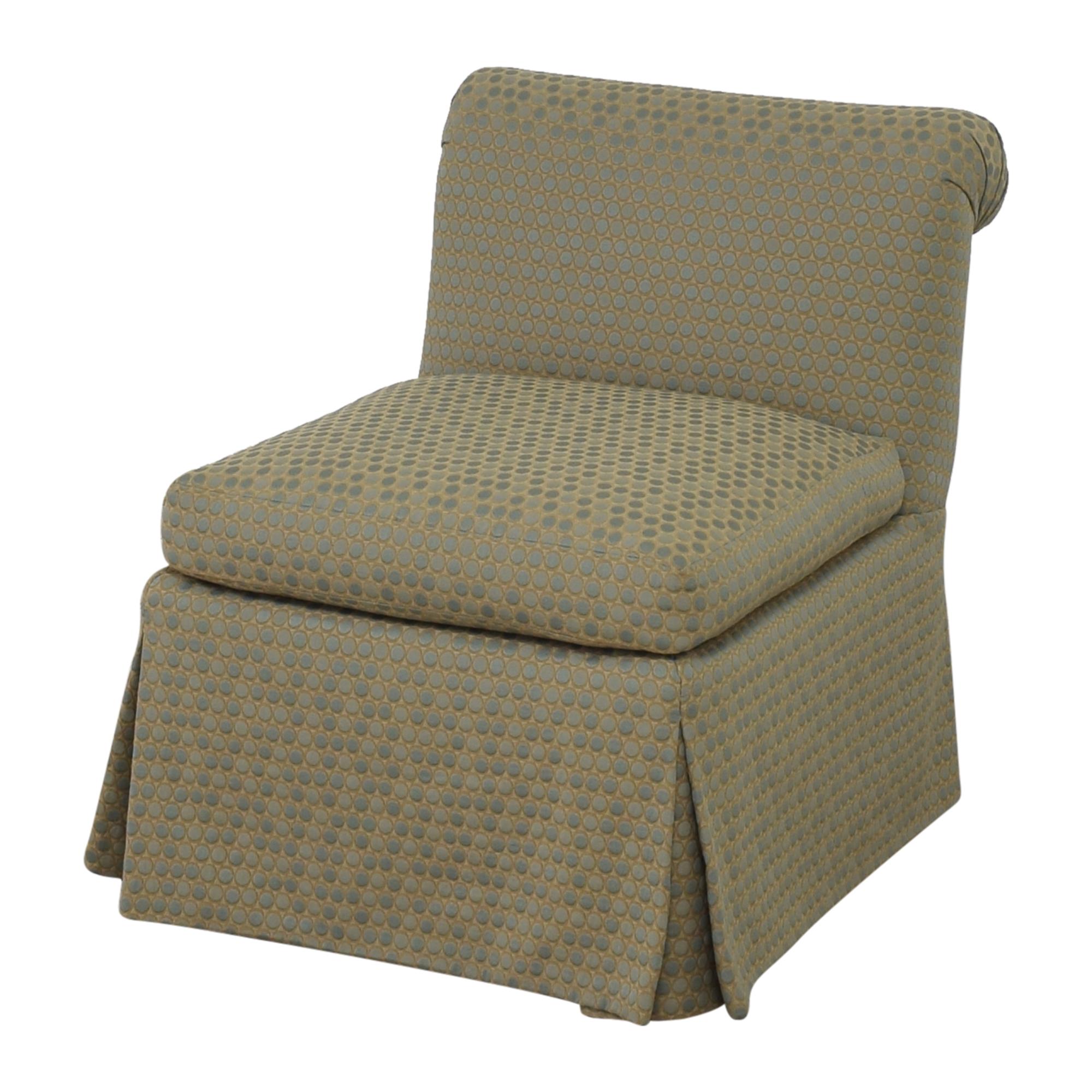 Custom Scroll Back Chair pa