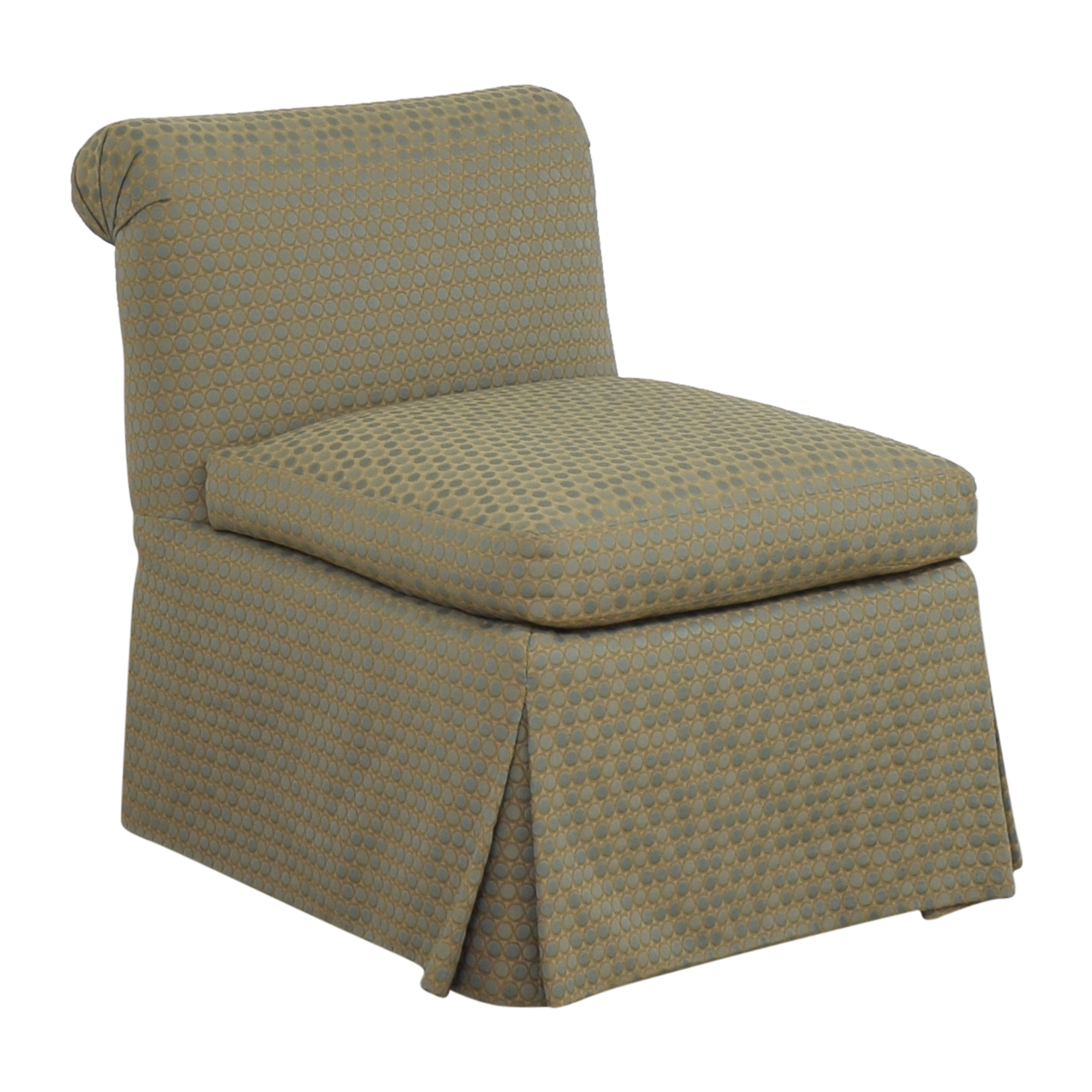 Custom Scroll Back Chair Accent Chairs