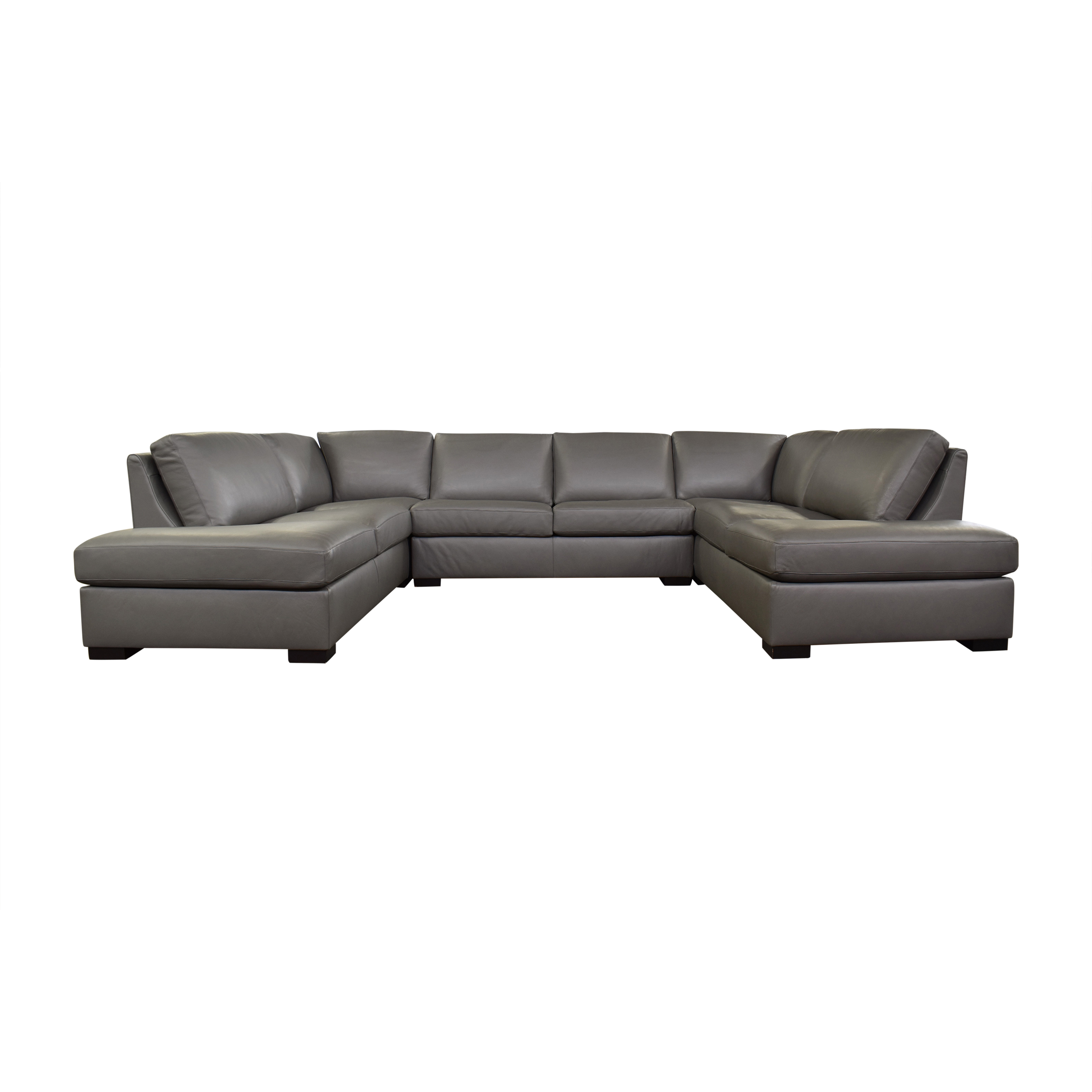 BenchMade Modern BenchMade Modern Couch Potato U-Shaped Bumper Sectional for sale