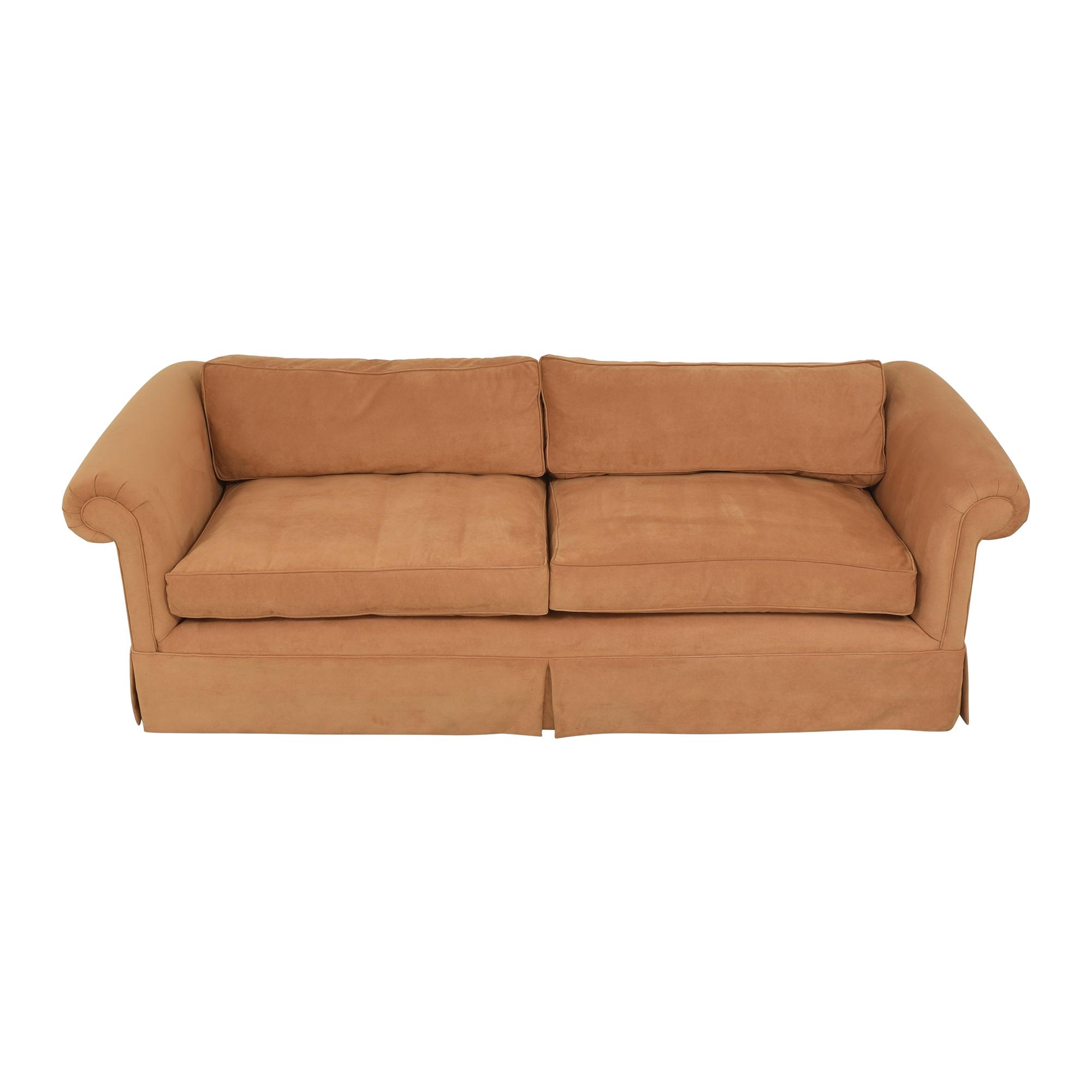 Custom Roll Arm Sofa coupon