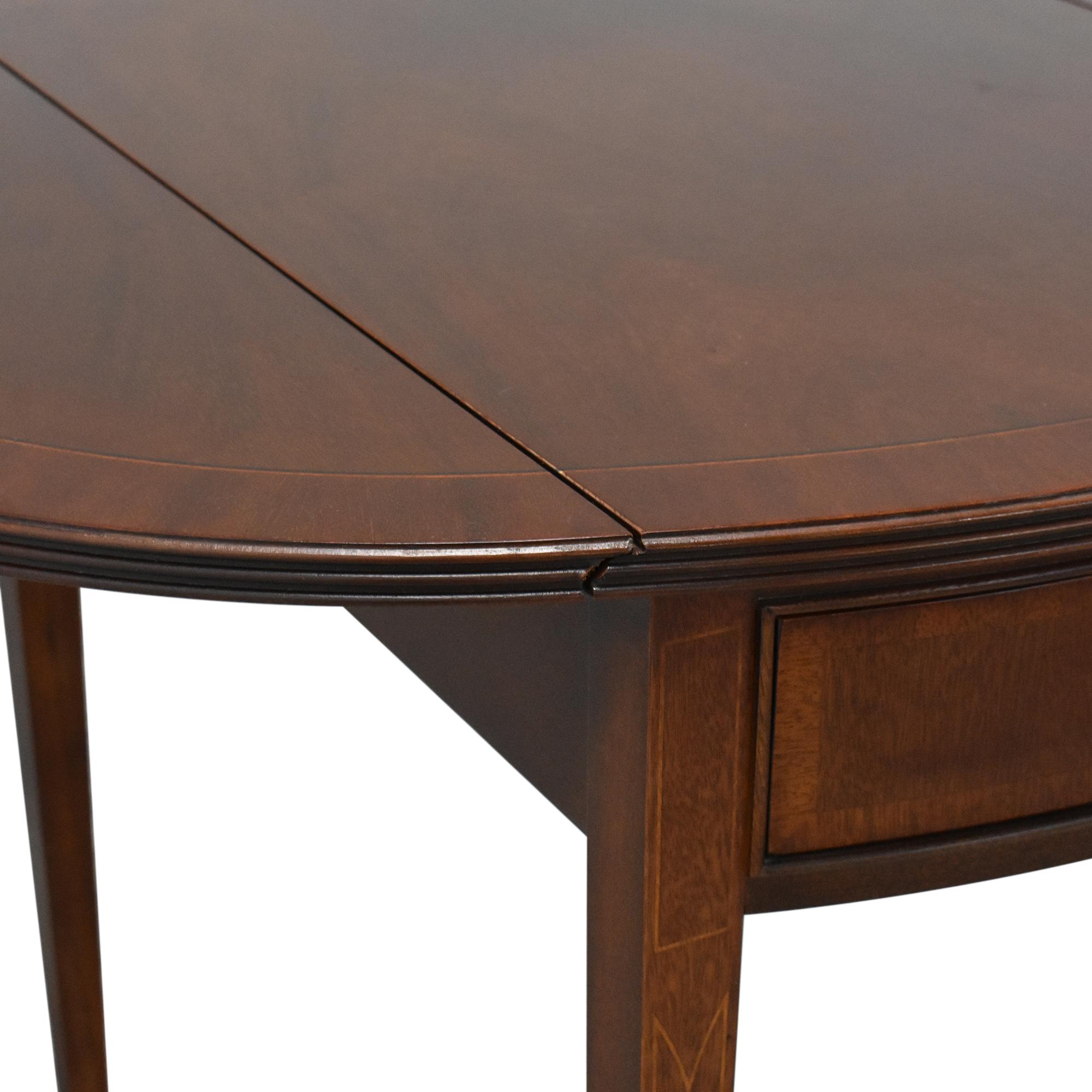 Ethan Allen Ethan Allen 18th Century Collection Pembroke End Table dimensions