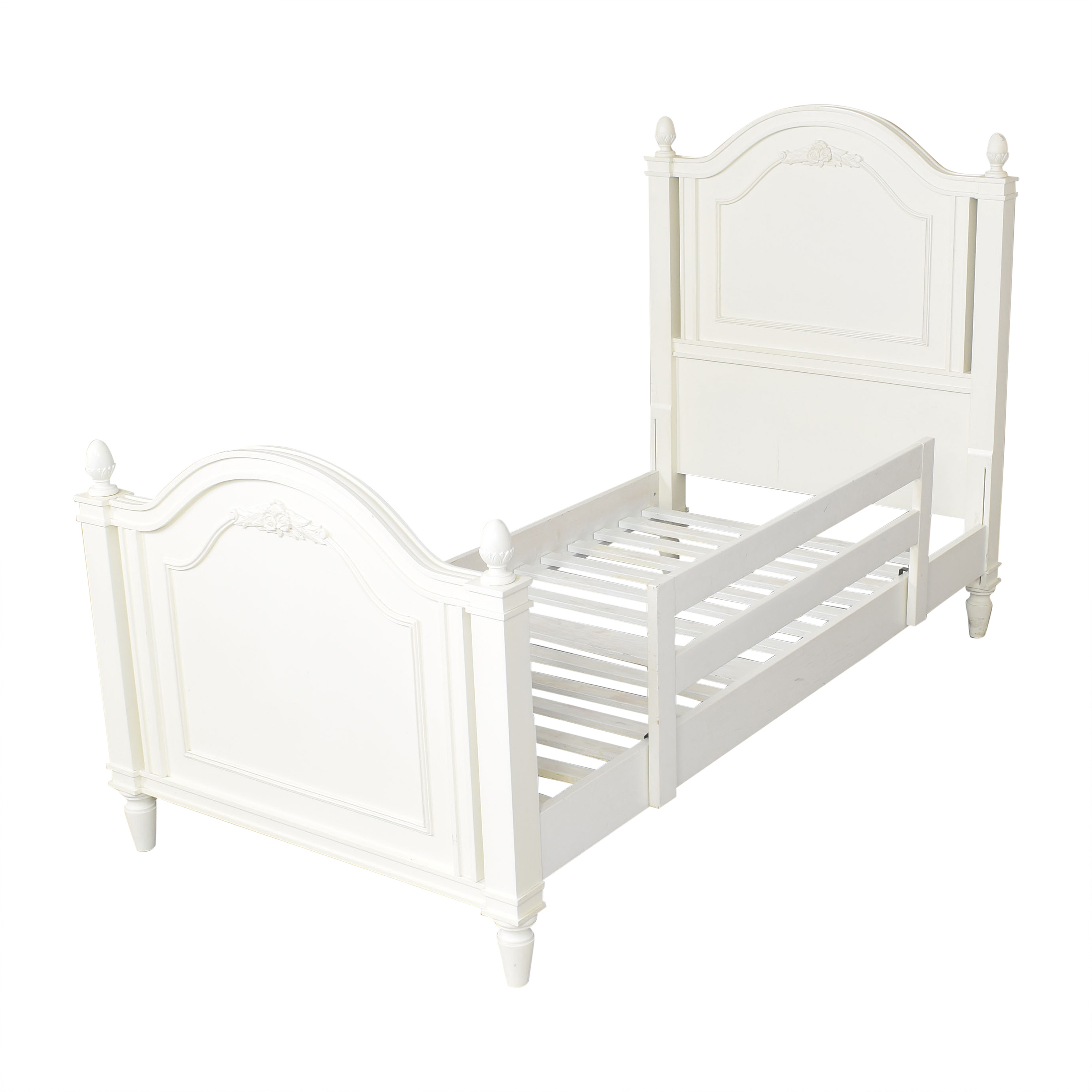 Stanley Furniture Stanley Furniture Young America Twin Low Post Bed Bed Frames