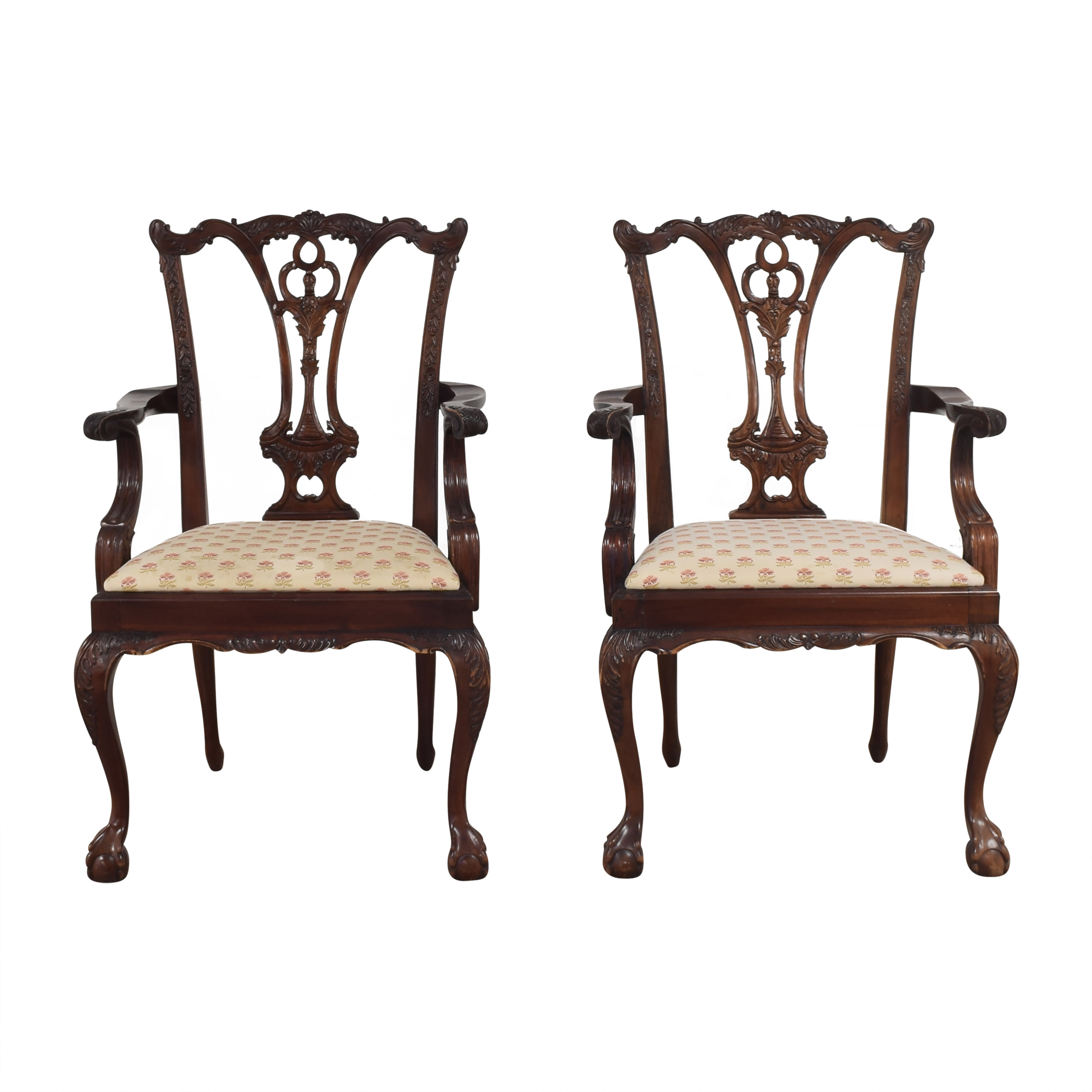 Paramount Antiques Paramount Antiques Chippendale Dining Arm Chairs coupon