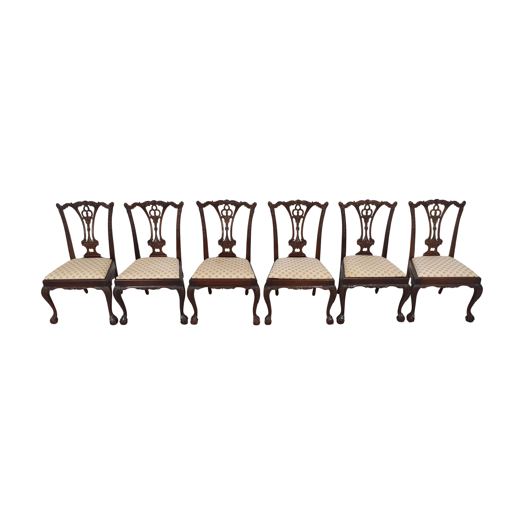 Paramount Antiques Paramount Antiques Chippendale Dining Side Chairs multi