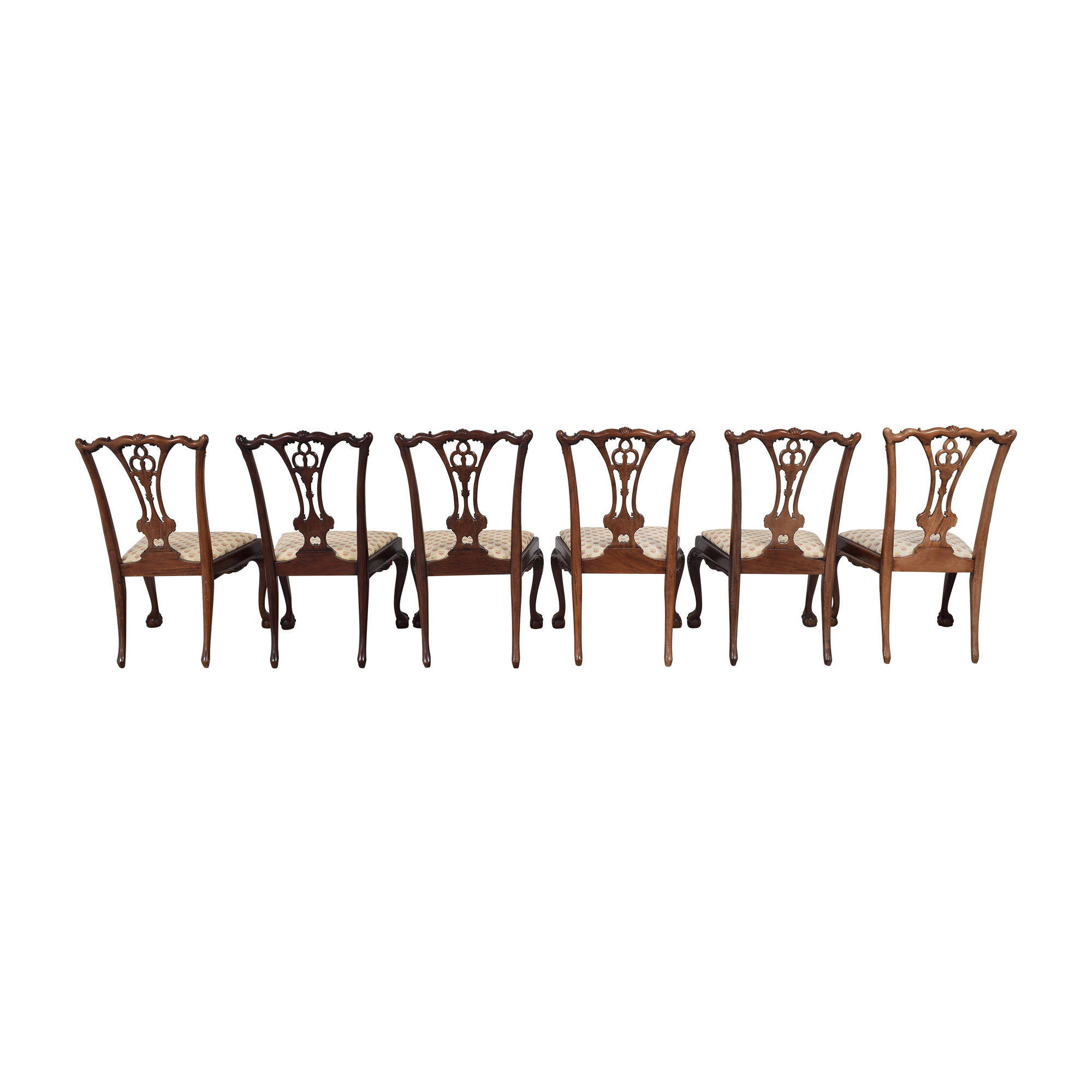 shop Paramount Antiques Chippendale Dining Side Chairs Paramount Antiques Chairs