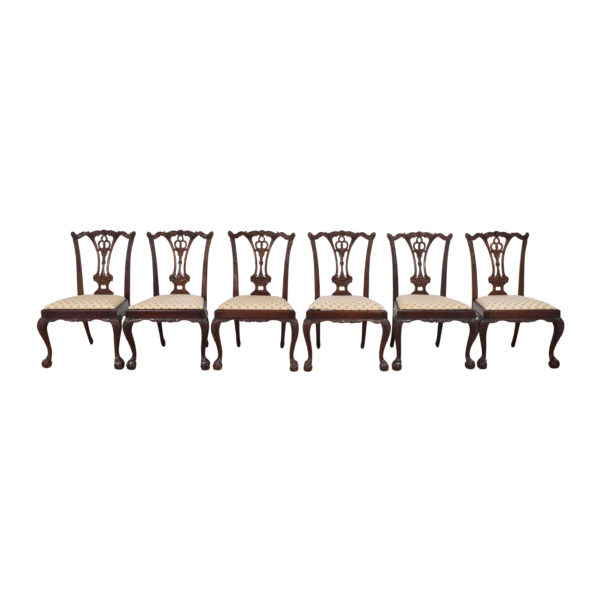 Paramount Antiques Paramount Antiques Chippendale Dining Side Chairs nj