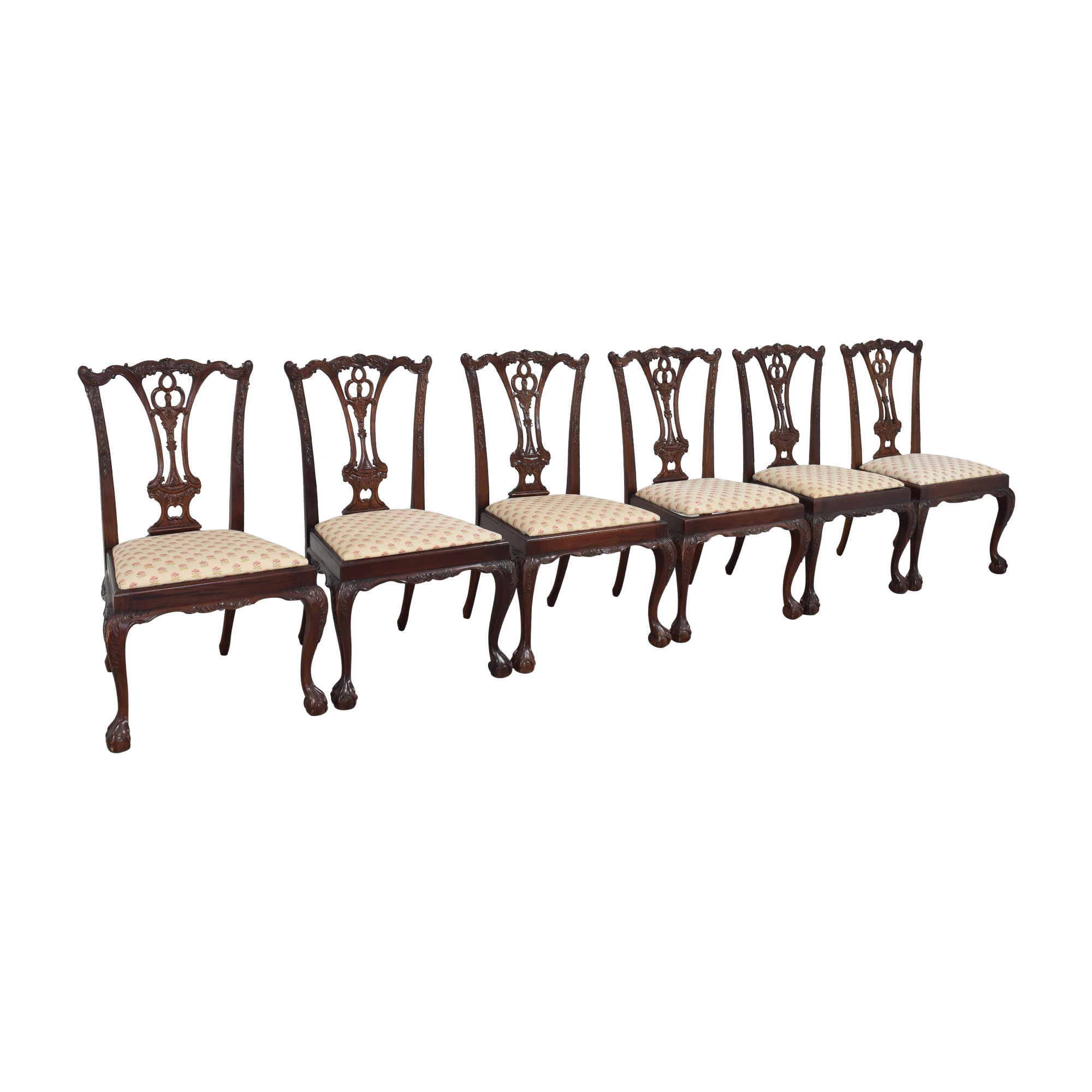 buy Paramount Antiques Chippendale Dining Side Chairs Paramount Antiques
