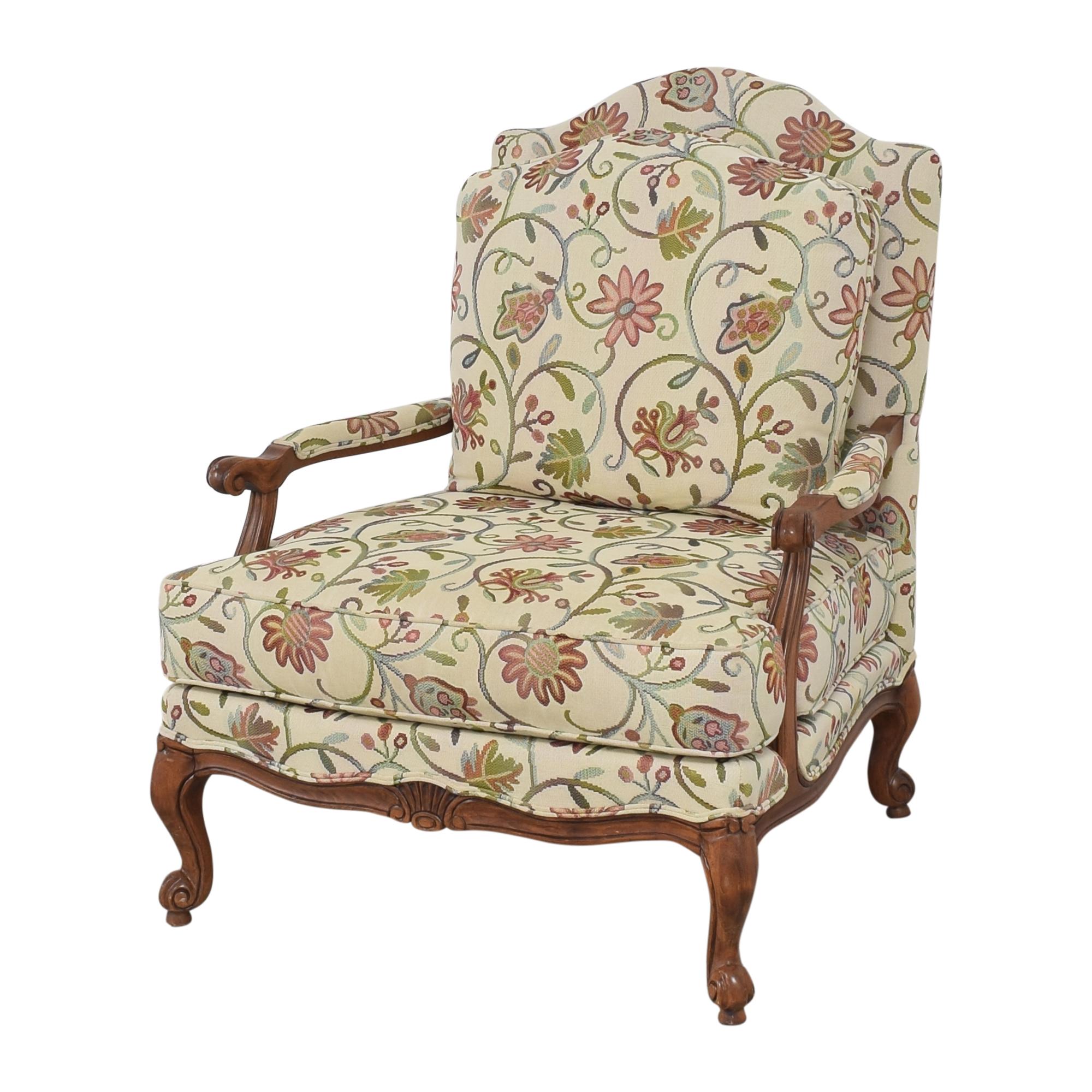 Ethan Allen Ethan Allen Harris Floral Chair Accent Chairs