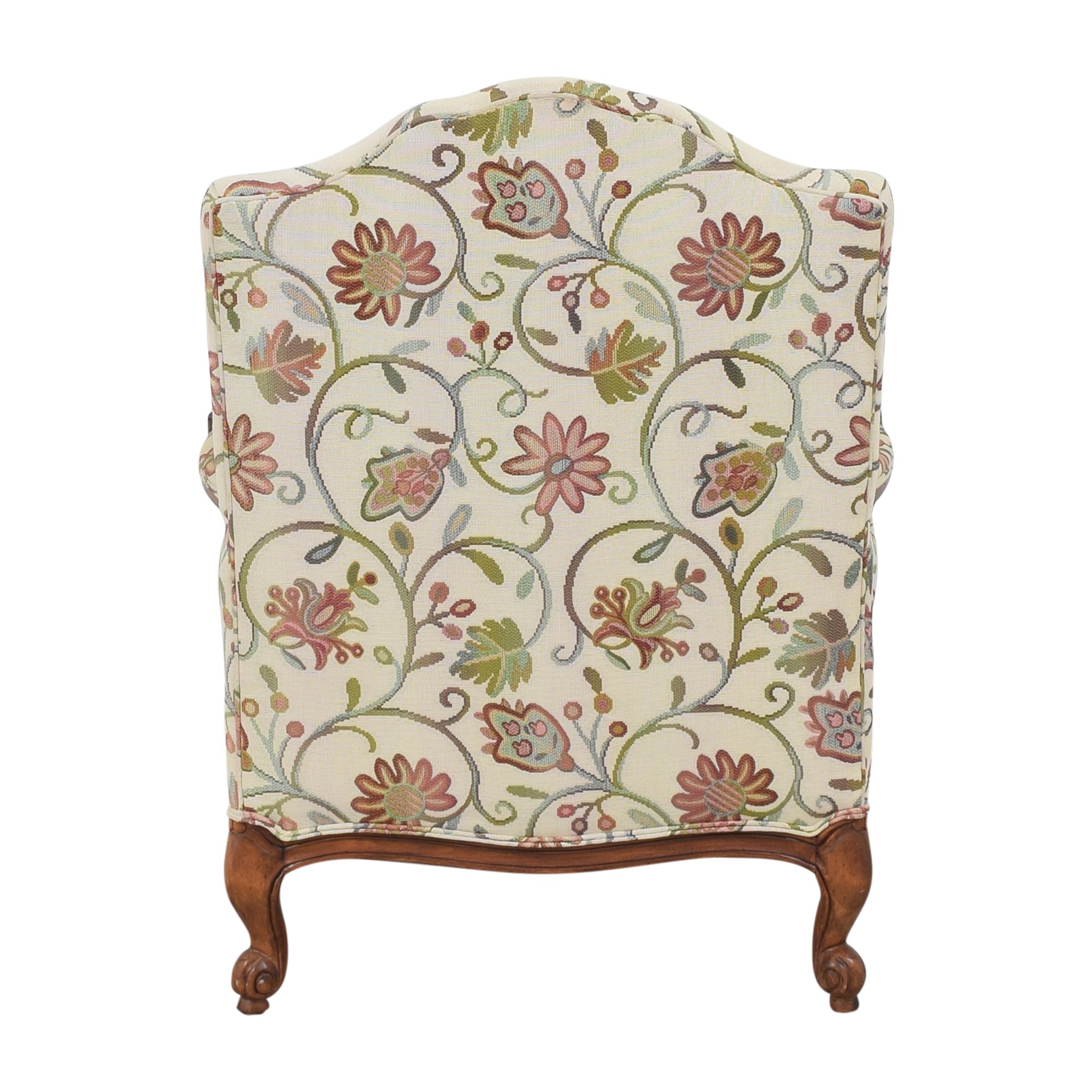 shop Ethan Allen Harris Floral Chair Ethan Allen