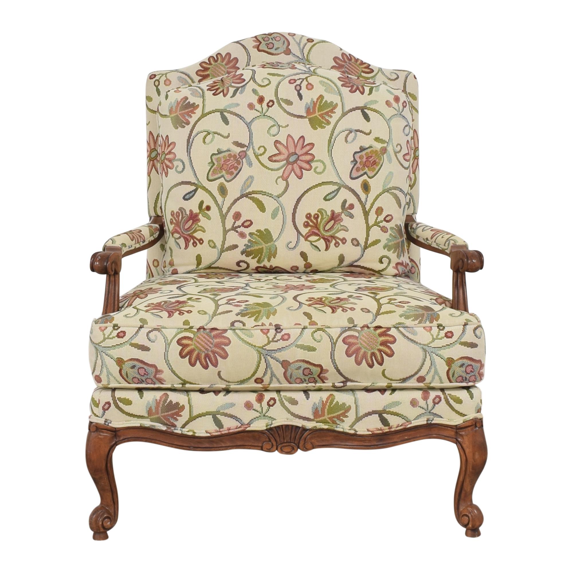 buy Ethan Allen Harris Floral Chair Ethan Allen Accent Chairs