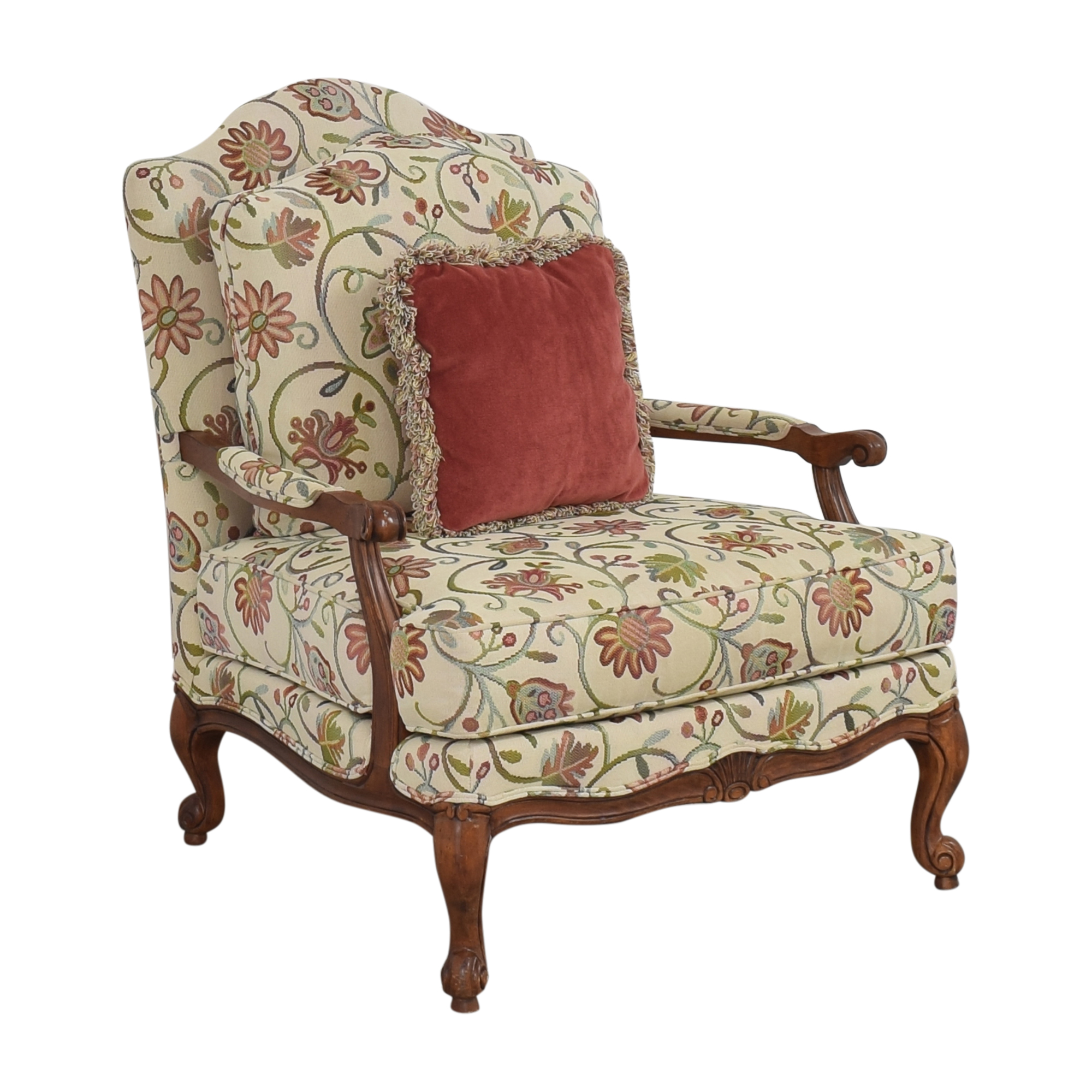 Ethan Allen Ethan Allen Harris Floral Chair pa