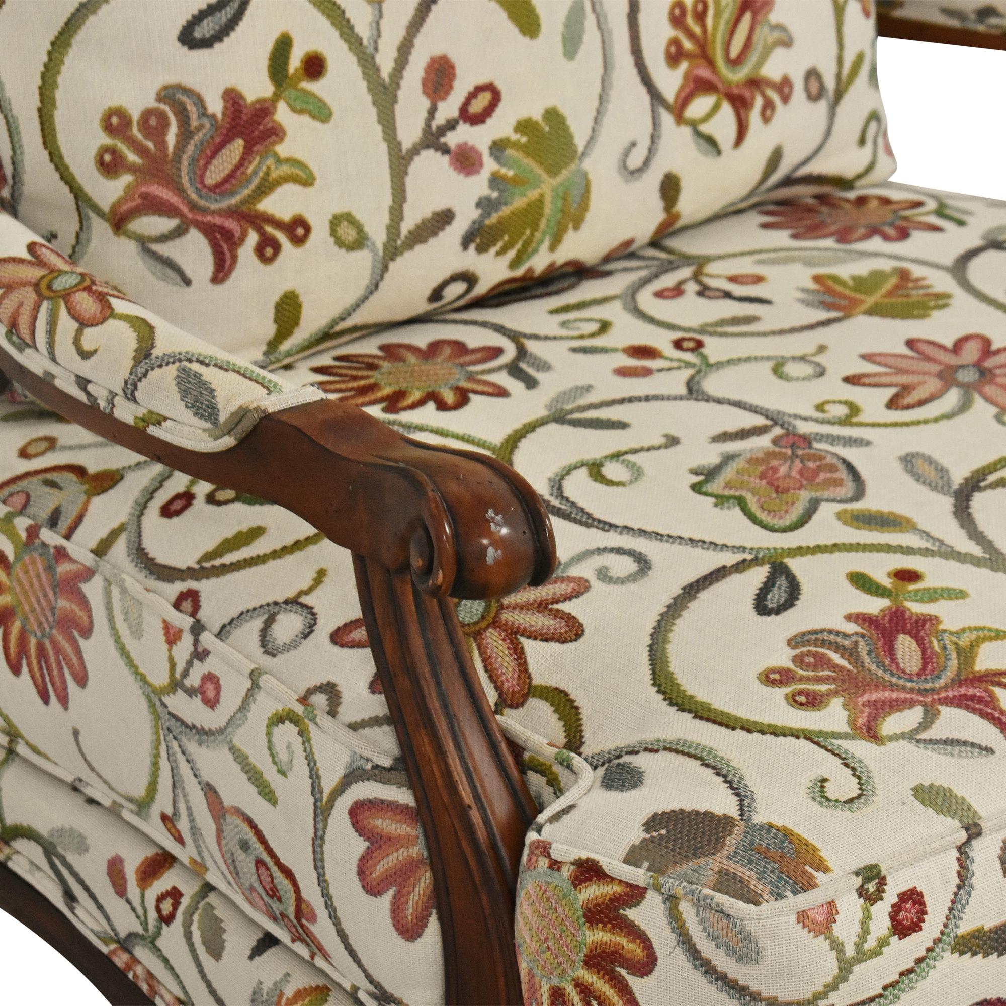 Ethan Allen Ethan Allen Harris Floral Chair nj