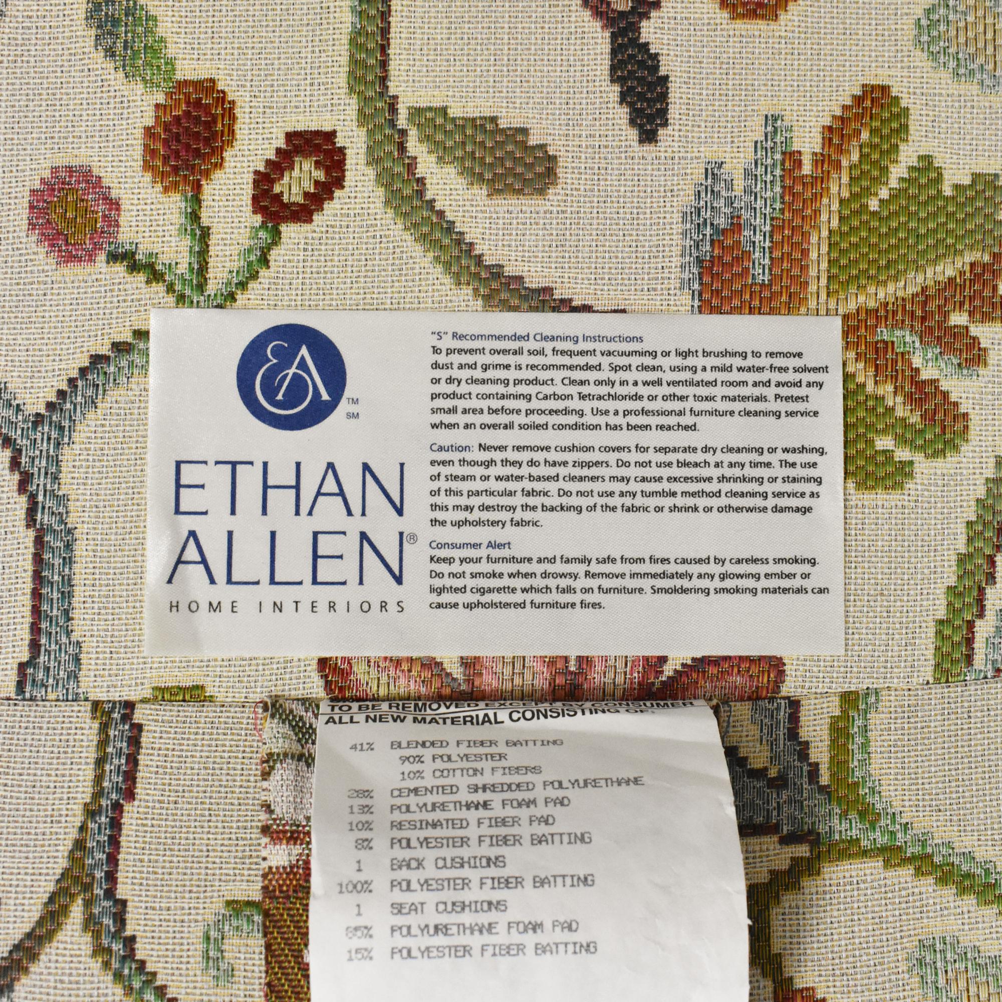 Ethan Allen Harris Floral Chair Ethan Allen