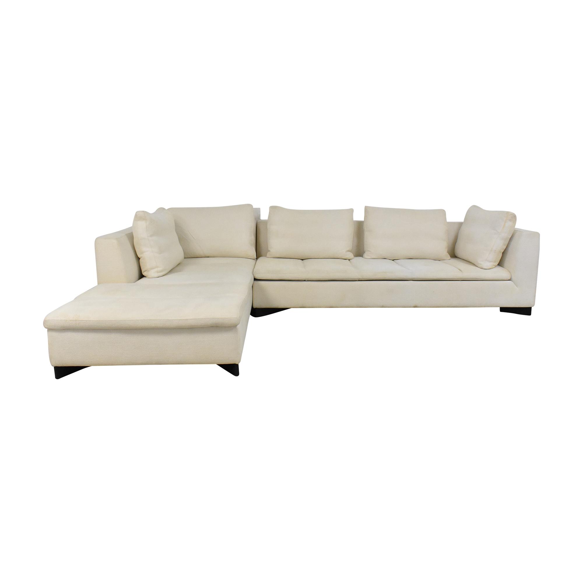 buy Ligne Roset Sectional Sofa with Chaise Ligne Roset Sofas