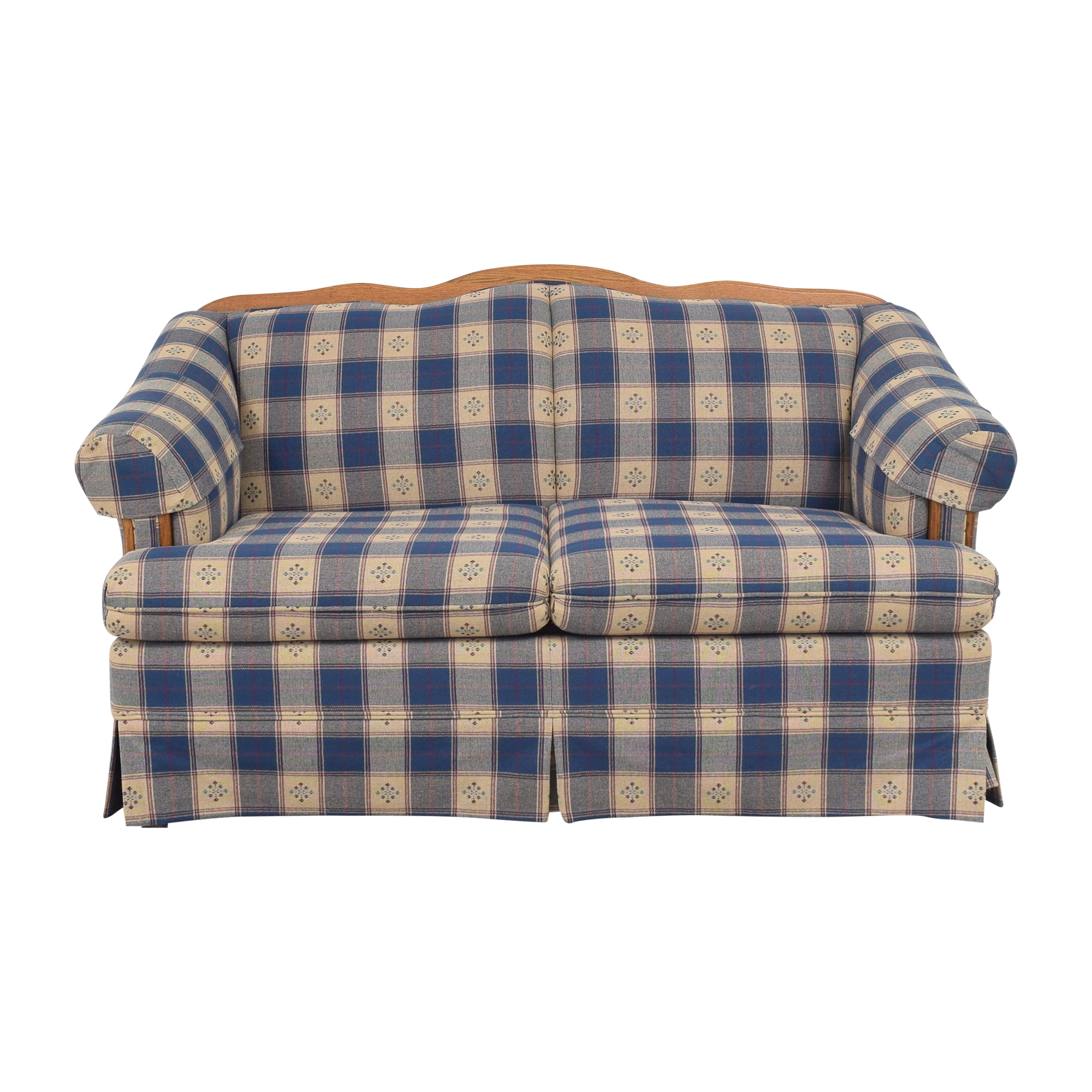 Broyhill Furniture Broyhill Furniture Roll Arm Loveseat