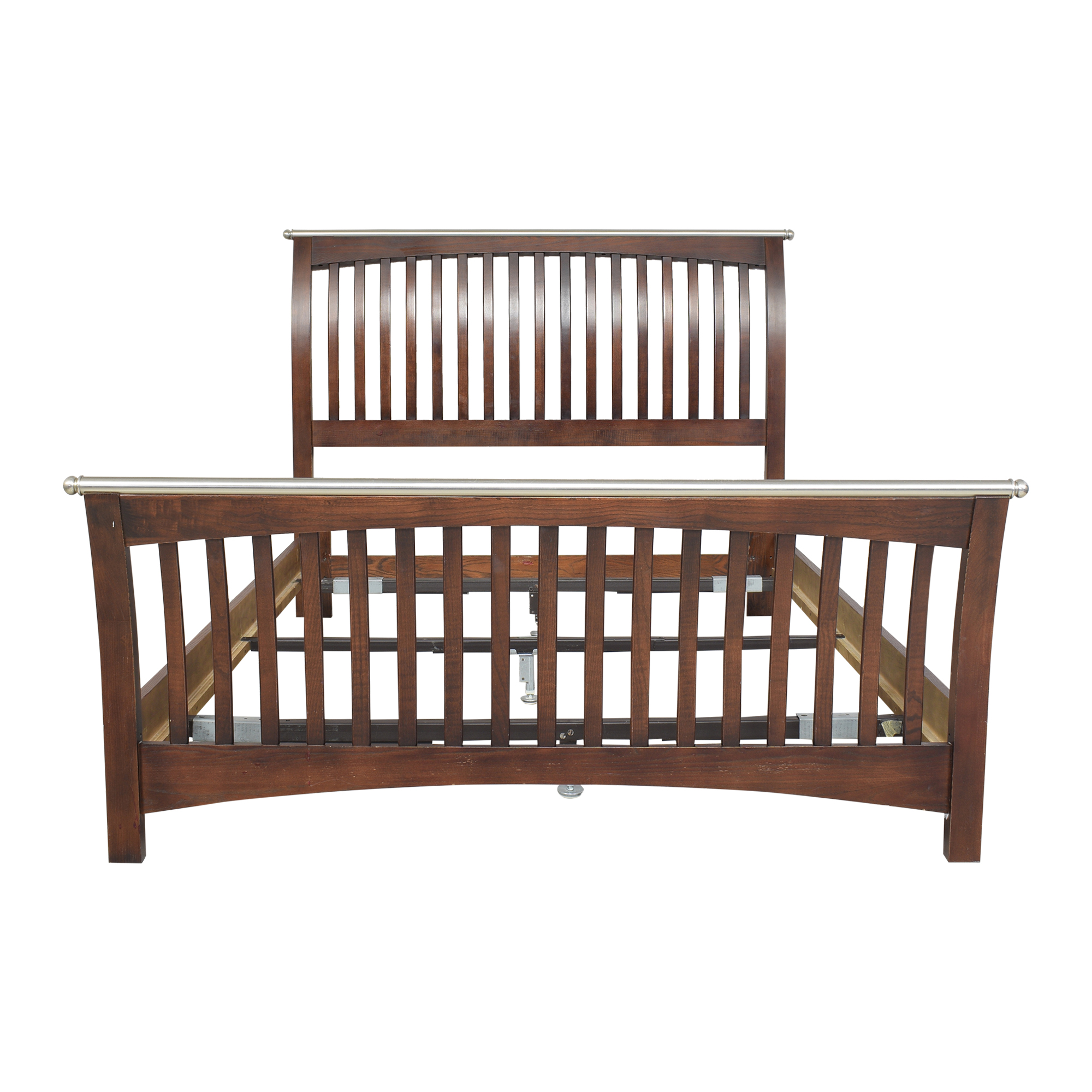 Thomasville Thomasville Mission-Style Queen Bed dimensions