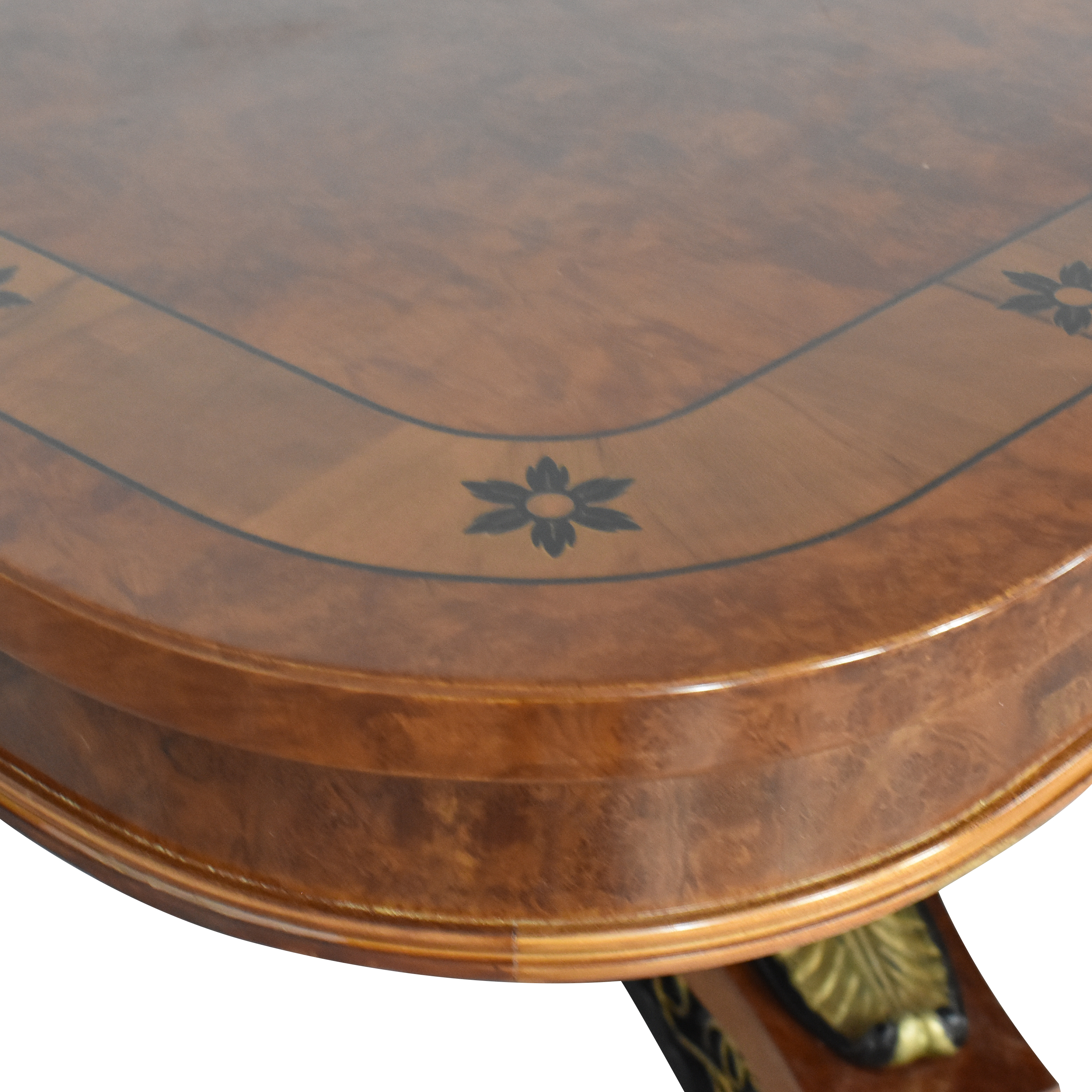 shop Inlaid Extendable Dining Table  Tables