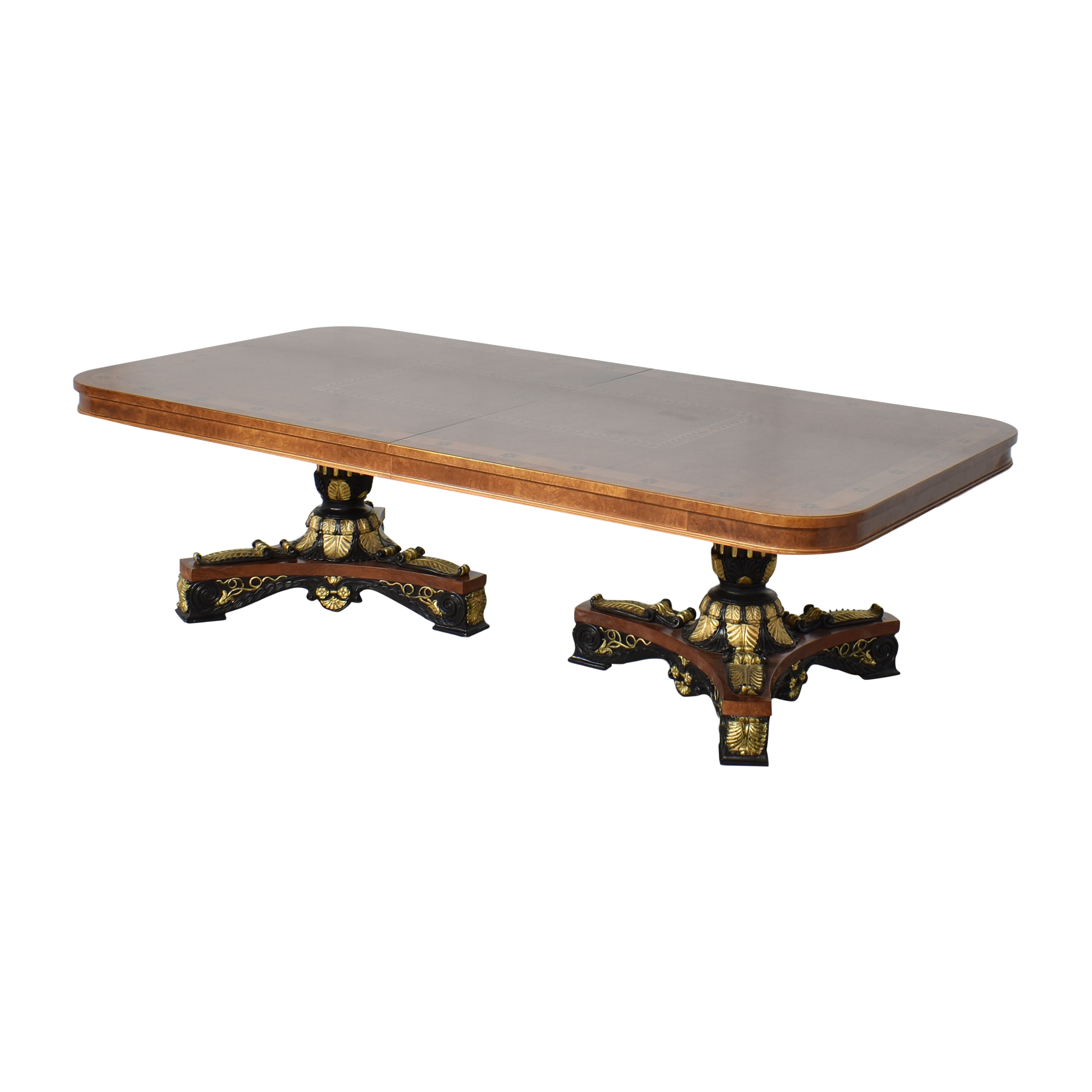 Inlaid Extendable Dining Table price