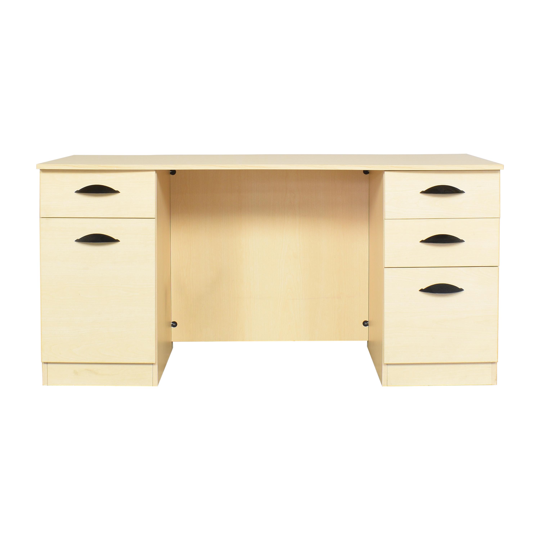 Hon Hon Double Pedestal Desk discount