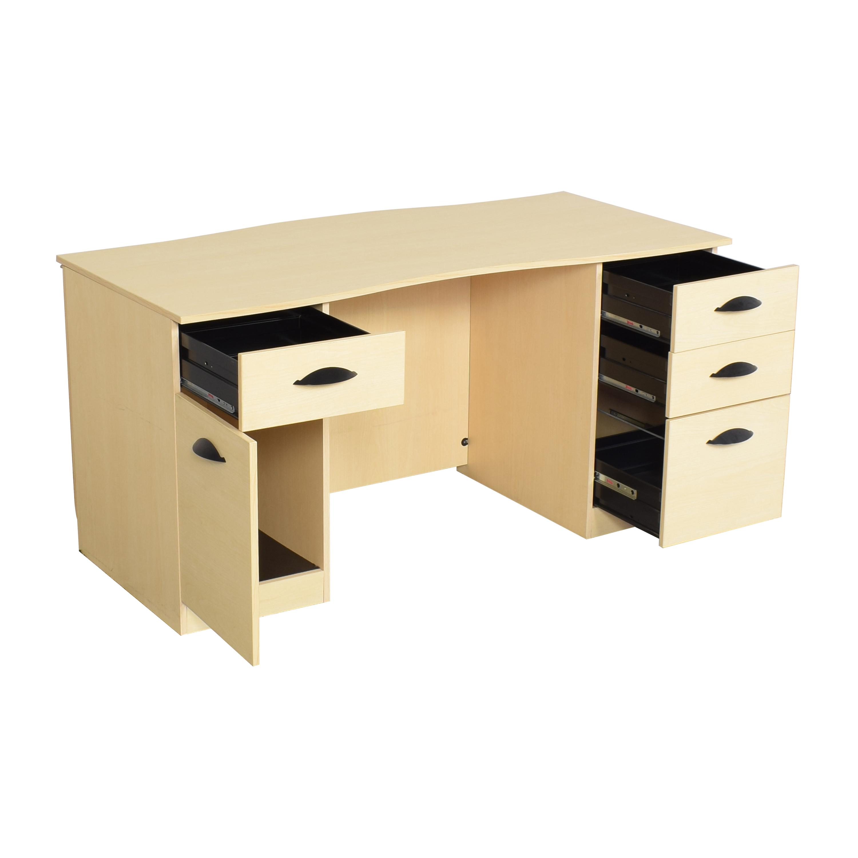 Hon Double Pedestal Desk / Home Office Desks