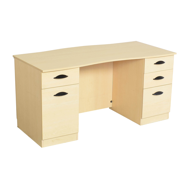 Hon Hon Double Pedestal Desk Home Office Desks
