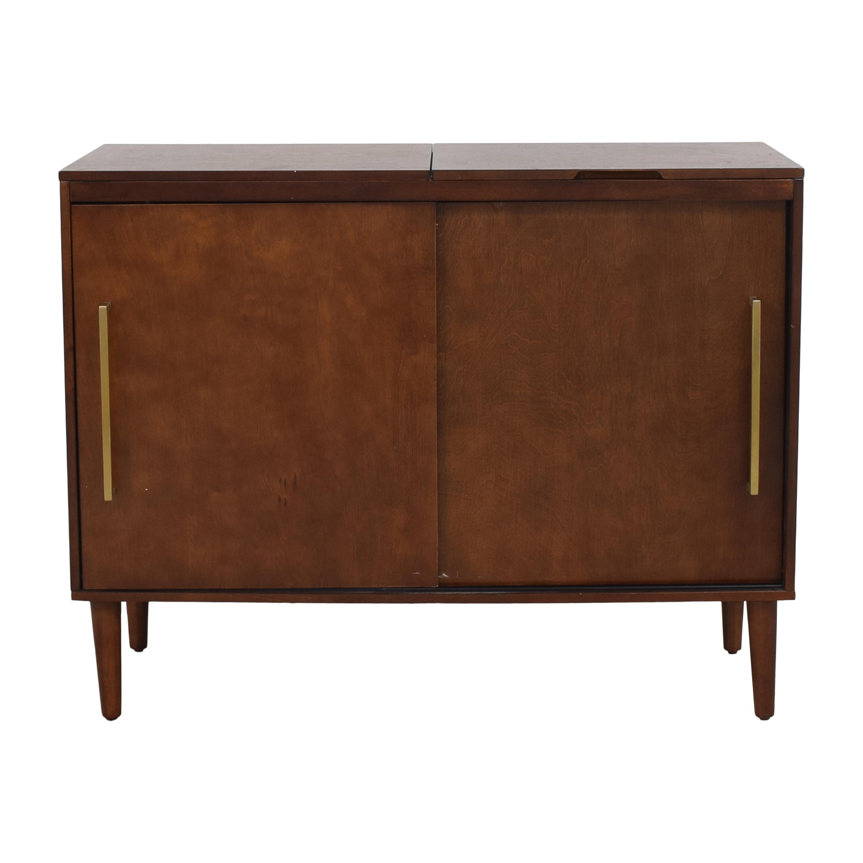 Crosley Furniture Everett Mid Century Modern Media Console / Storage