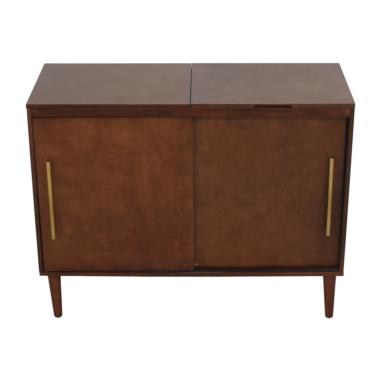 Crosley Furniture Crosley Furniture Everett Mid Century Modern Media Console discount